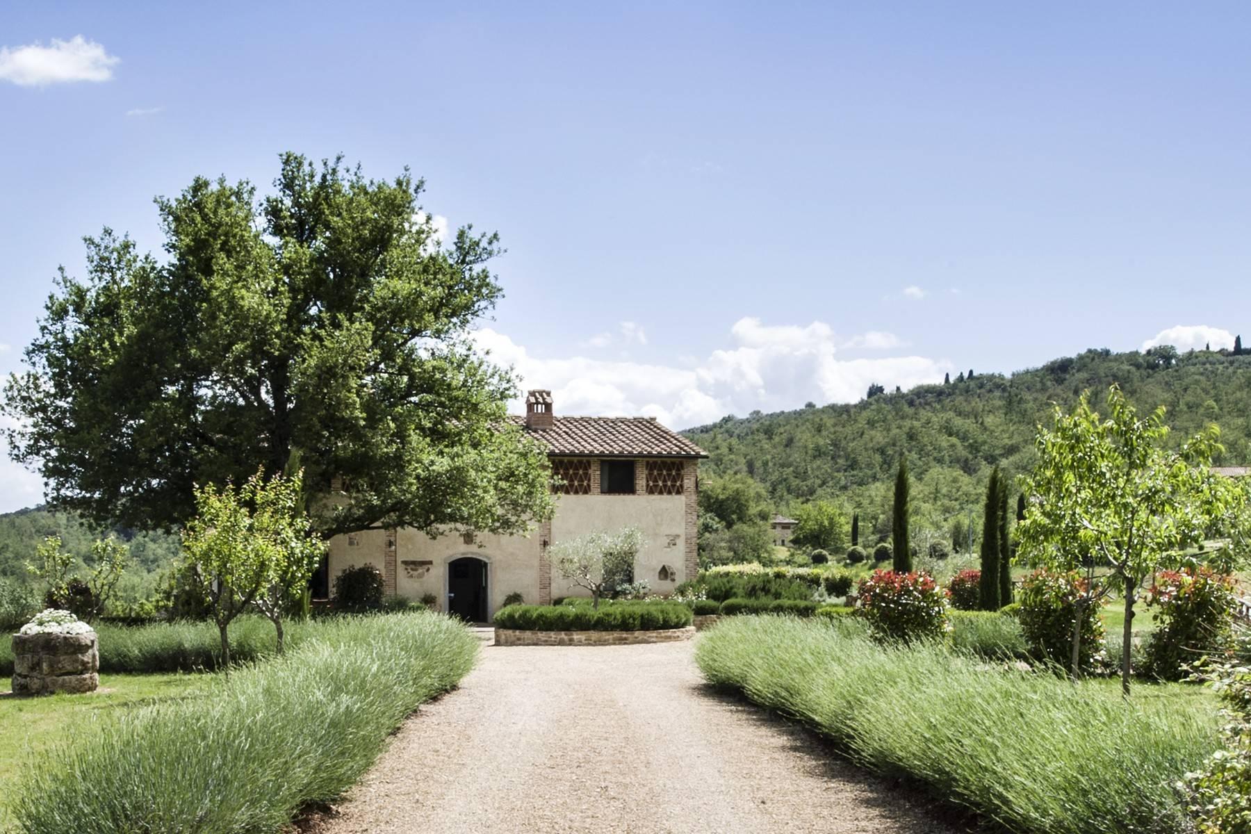 Idyllische toskanische Villa im Chianti mit Pool - 2