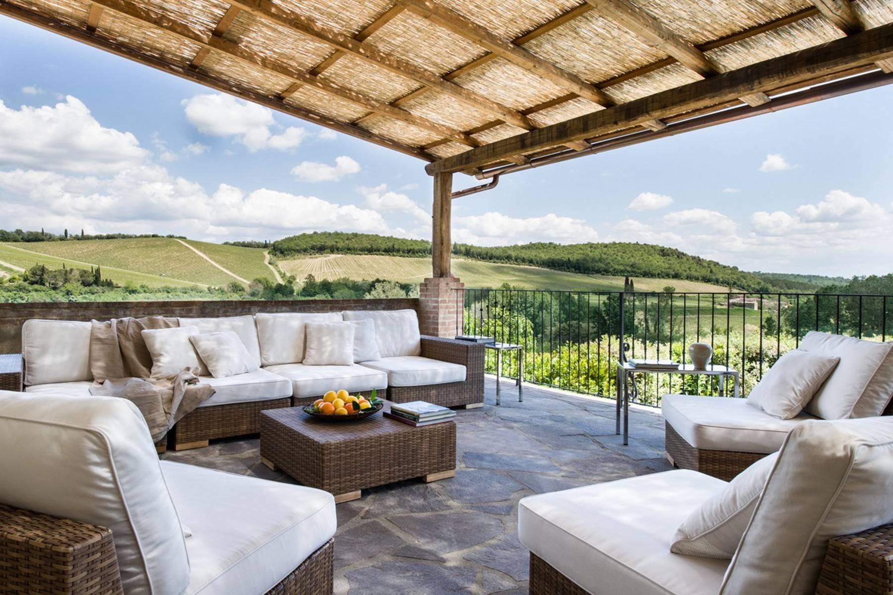 Idyllische toskanische Villa im Chianti mit Pool - 5
