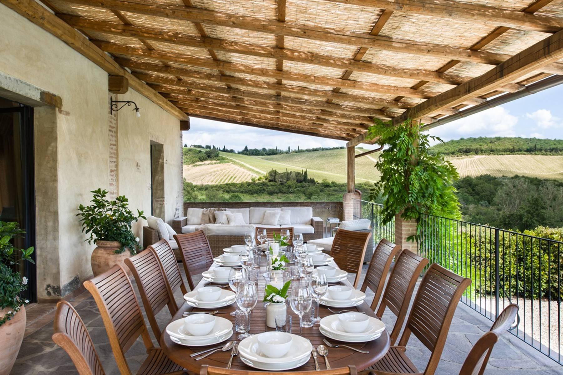 Idyllische toskanische Villa im Chianti mit Pool - 6
