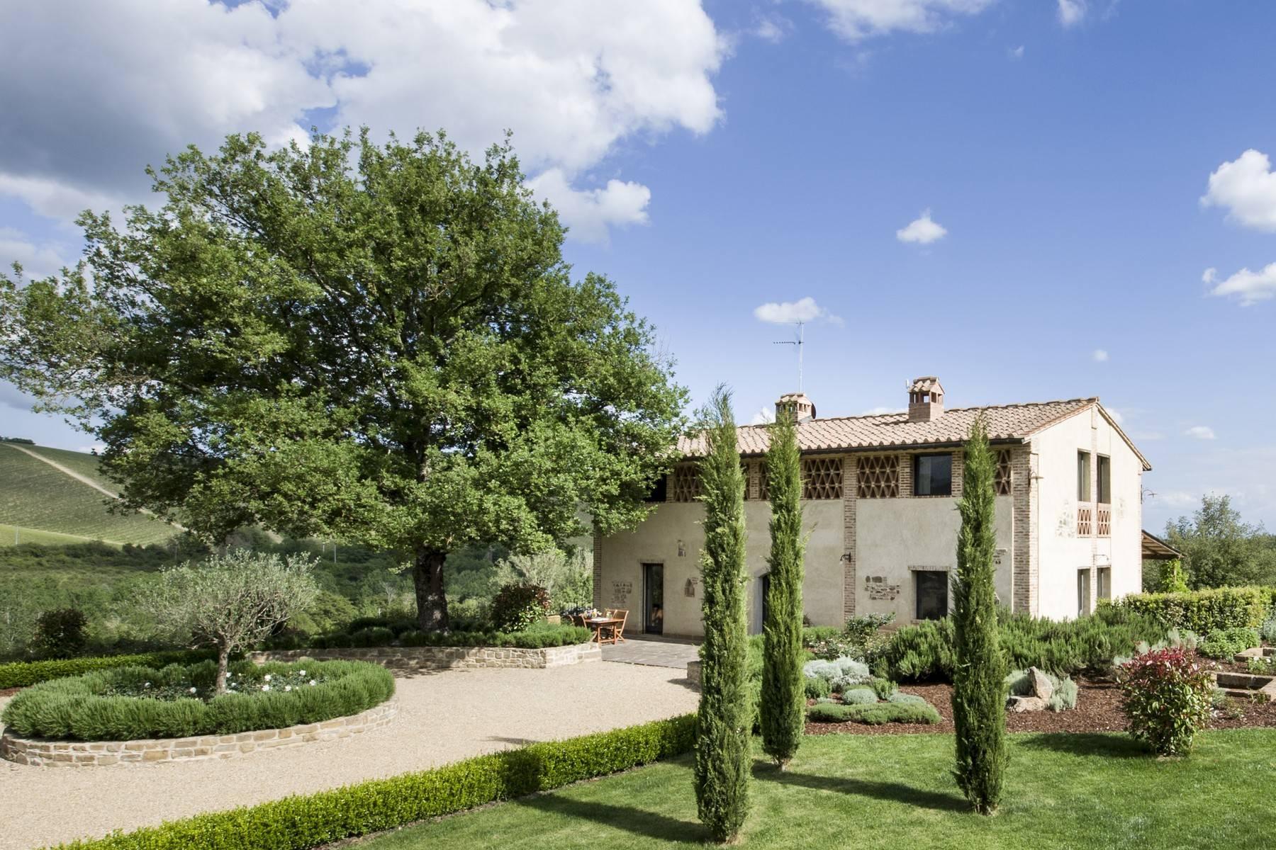 Idyllische toskanische Villa im Chianti mit Pool - 1