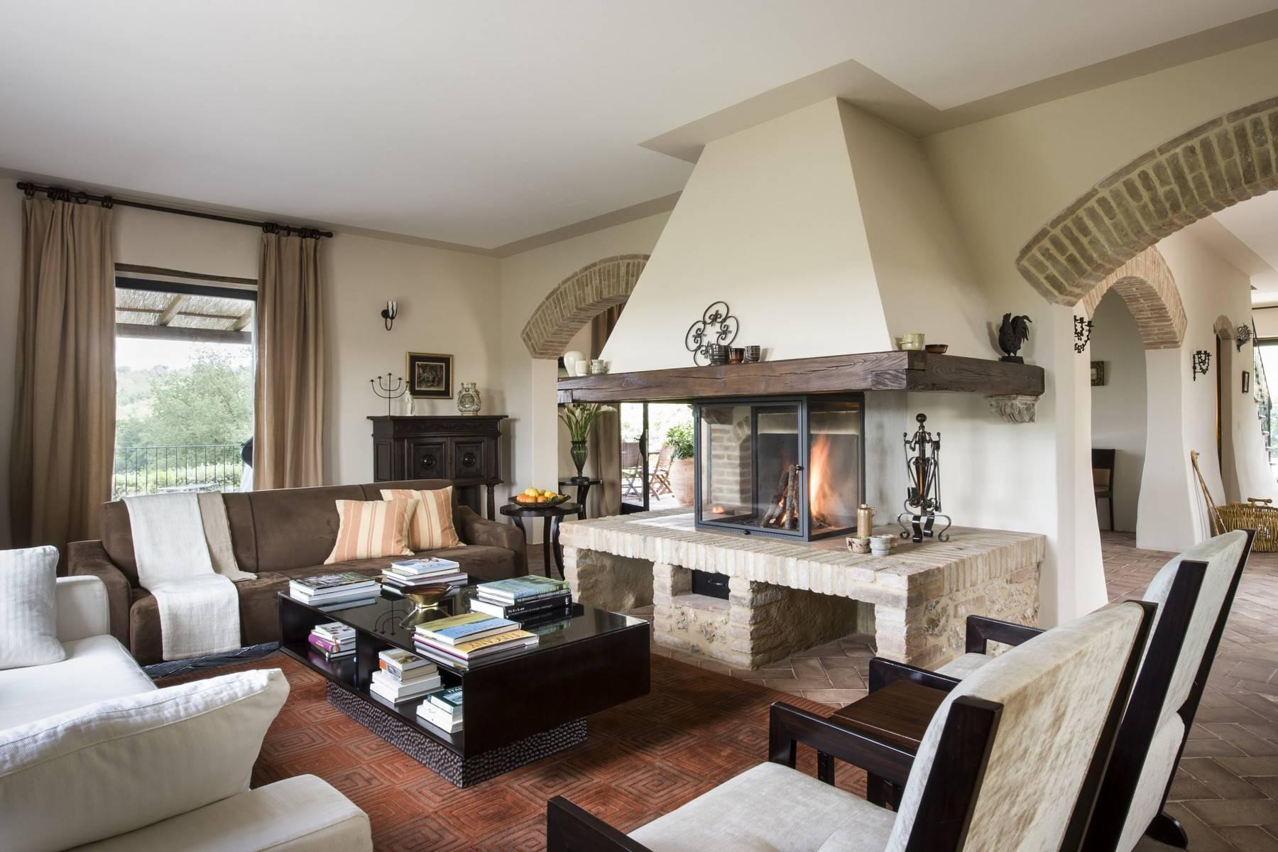 Idyllische toskanische Villa im Chianti mit Pool - 9