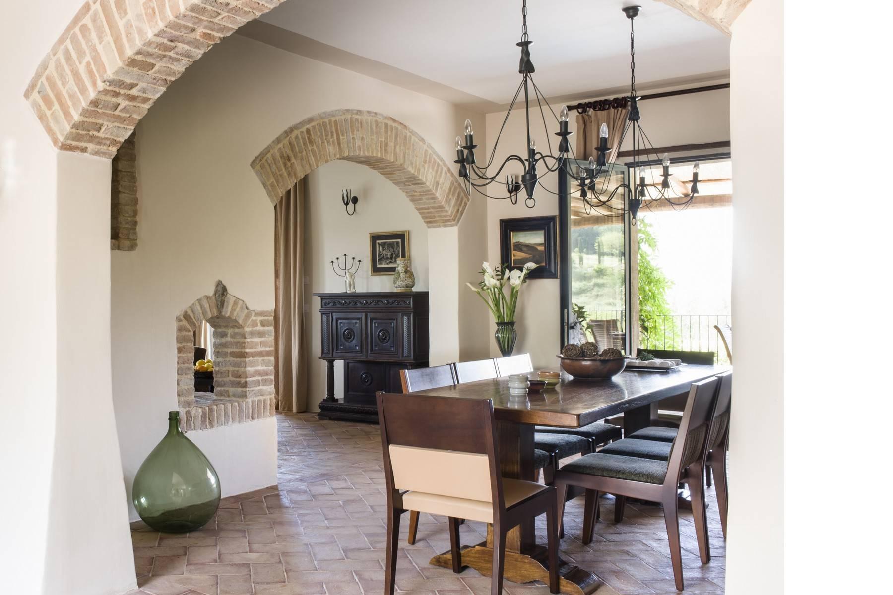 Idyllische toskanische Villa im Chianti mit Pool - 10