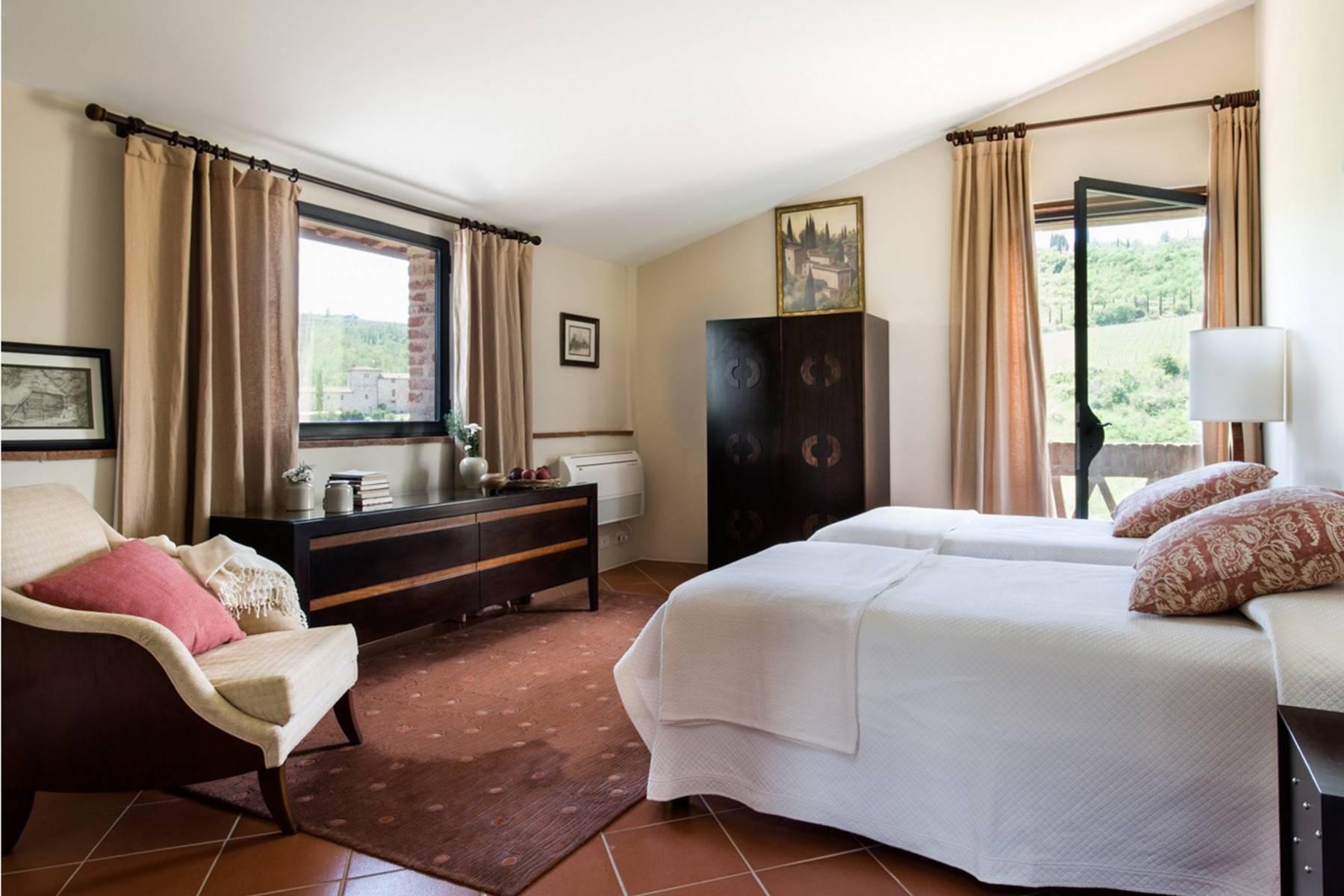 Idyllische toskanische Villa im Chianti mit Pool - 16