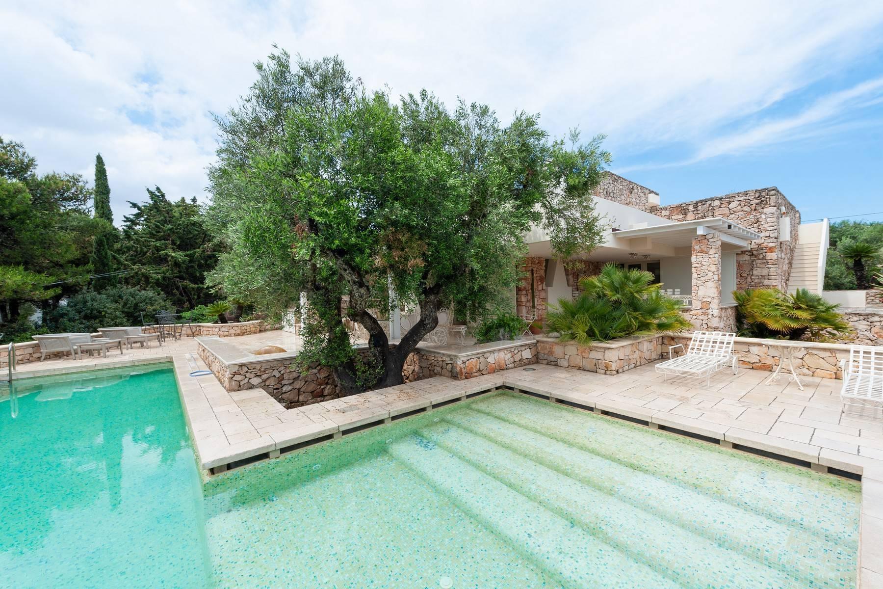 Villa in Panorama-Lage mit wunderschönem Blick auf den Meer - 19