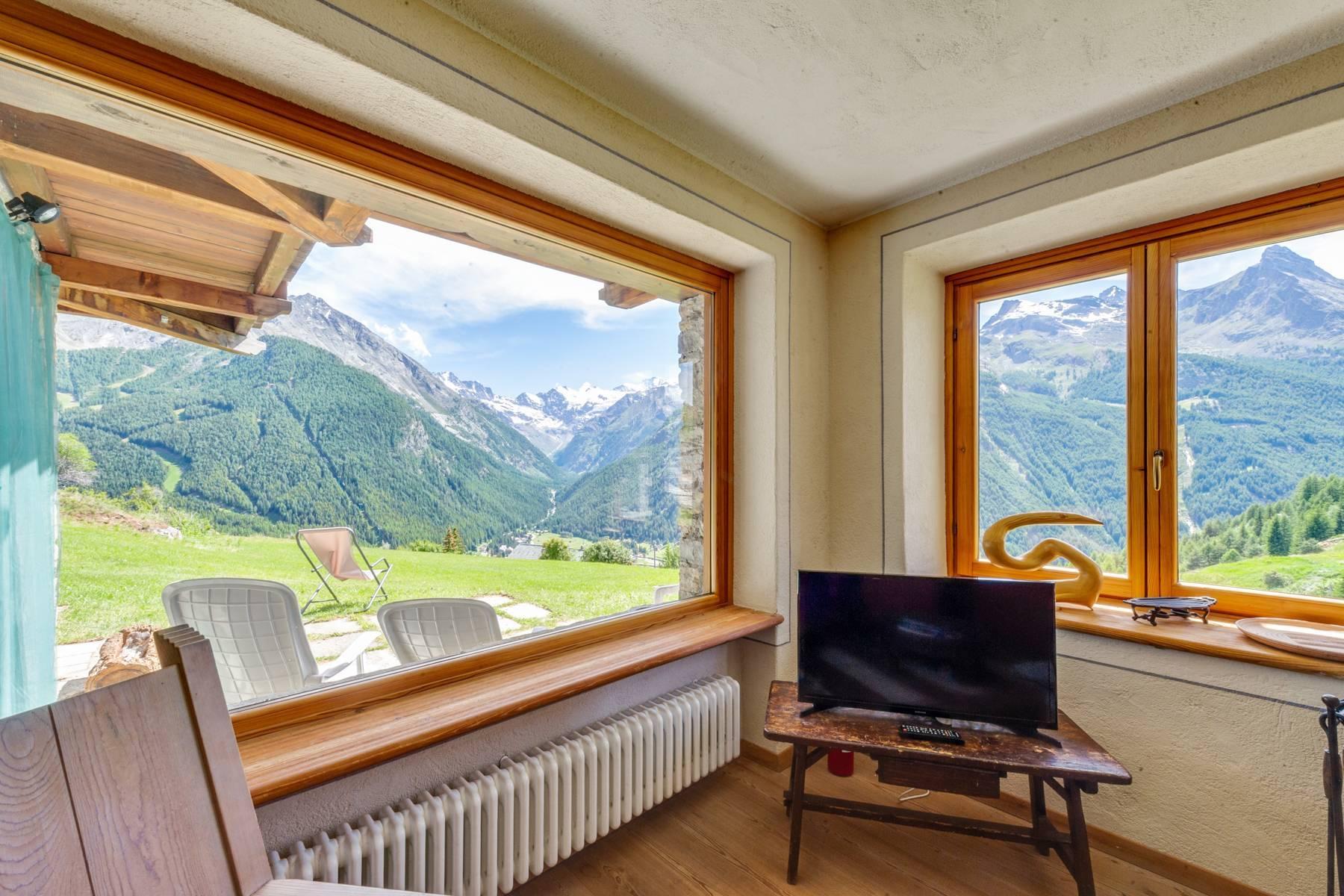 Modernes Chalet mit Blick auf den gran Paradiso - 12