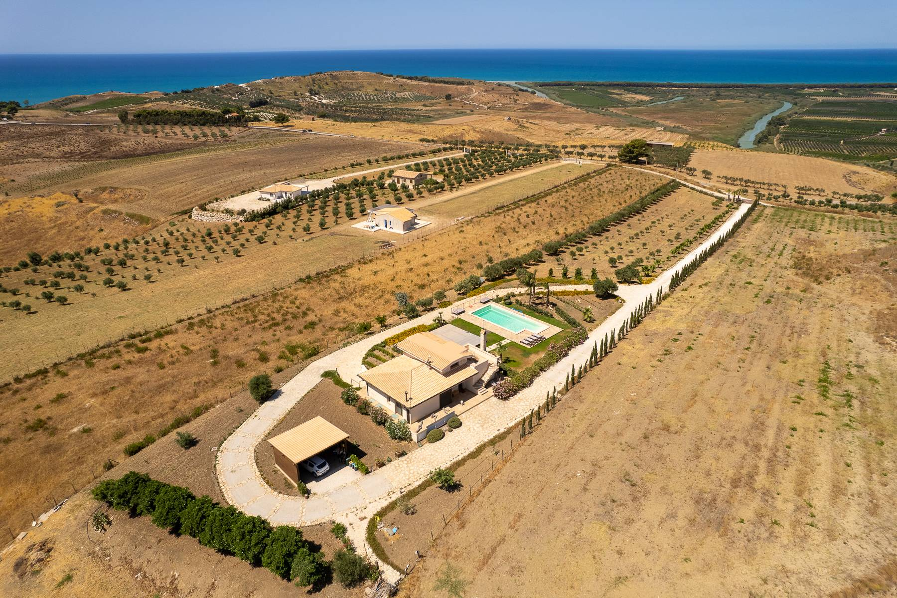 Villa esclusiva con panorama suggestivo sul mare Mediterraneo - 4