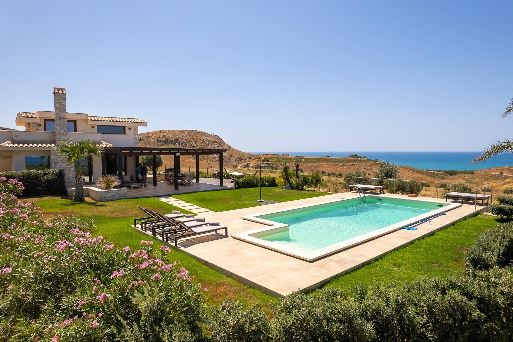 Villa esclusiva con panorama suggestivo sul mare Mediterraneo - 5