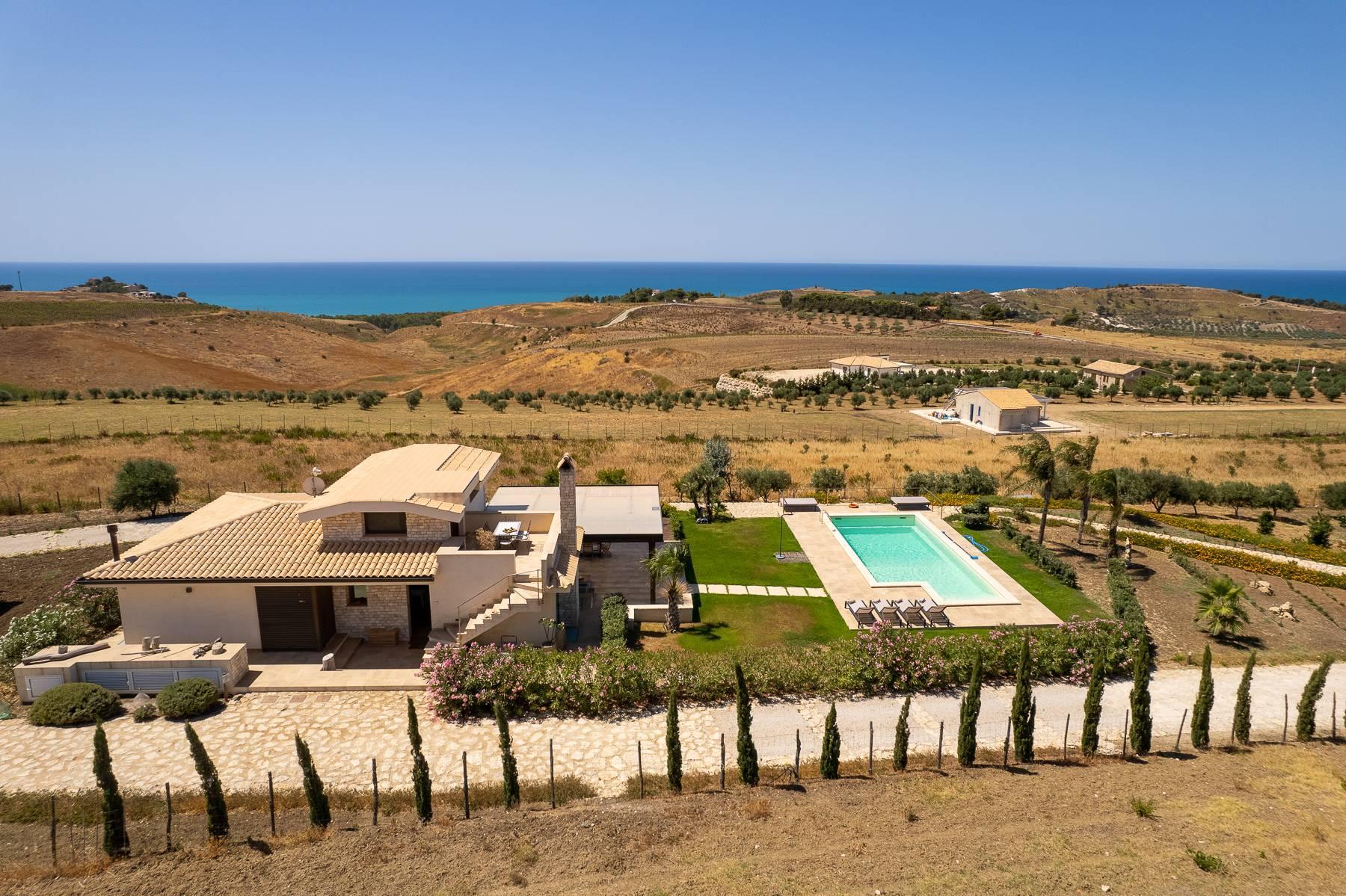 Villa esclusiva con panorama suggestivo sul mare Mediterraneo - 6