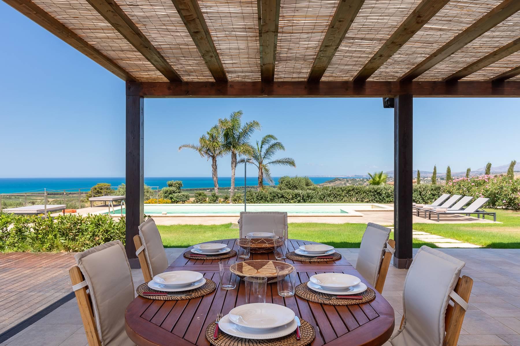 Villa esclusiva con panorama suggestivo sul mare Mediterraneo - 3