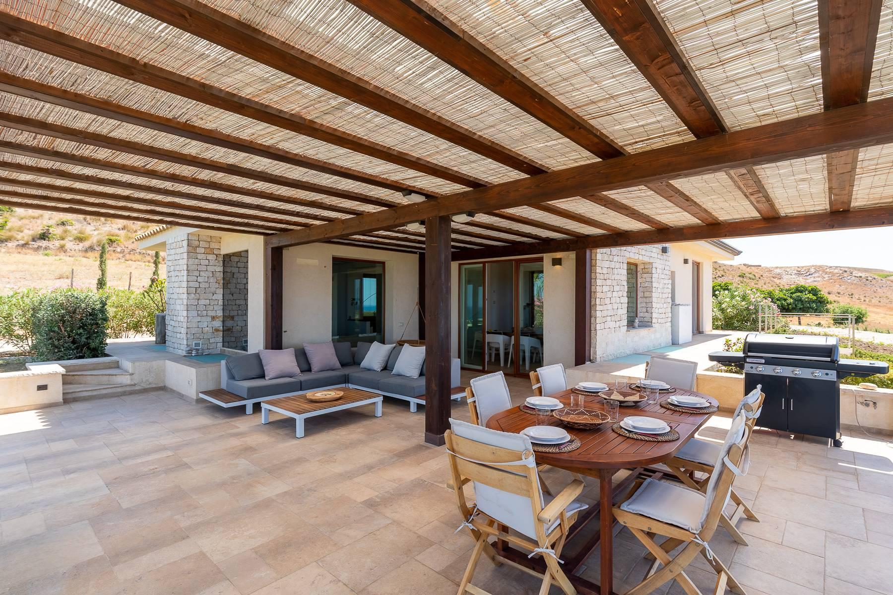 Villa esclusiva con panorama suggestivo sul mare Mediterraneo - 7