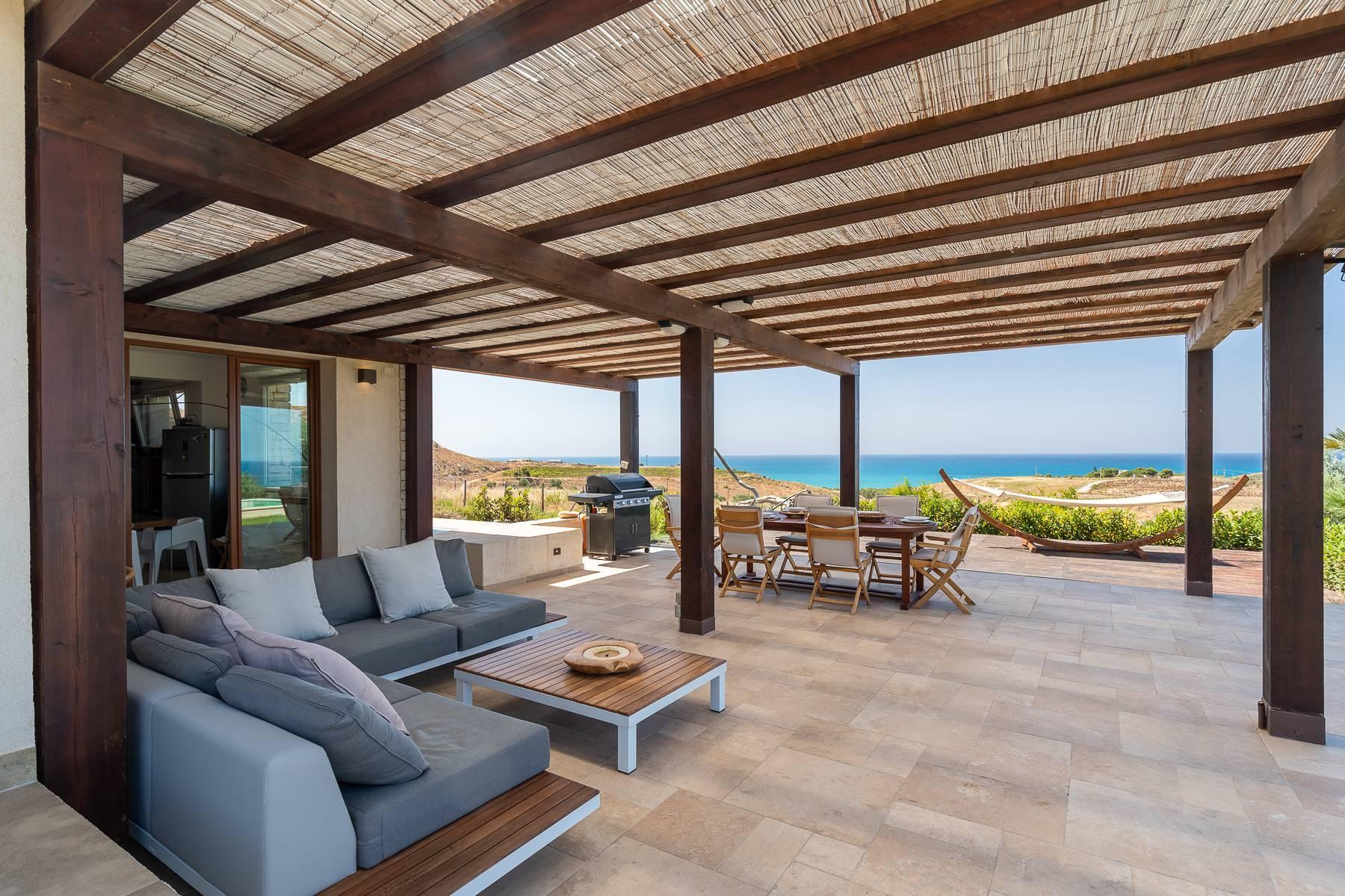 Villa esclusiva con panorama suggestivo sul mare Mediterraneo - 8