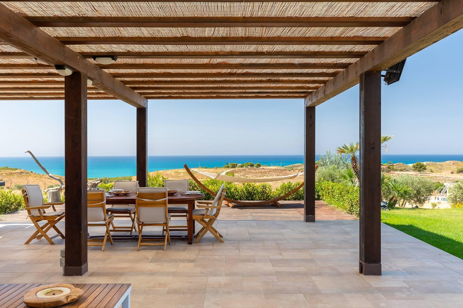 Villa esclusiva con panorama suggestivo sul mare Mediterraneo - 9