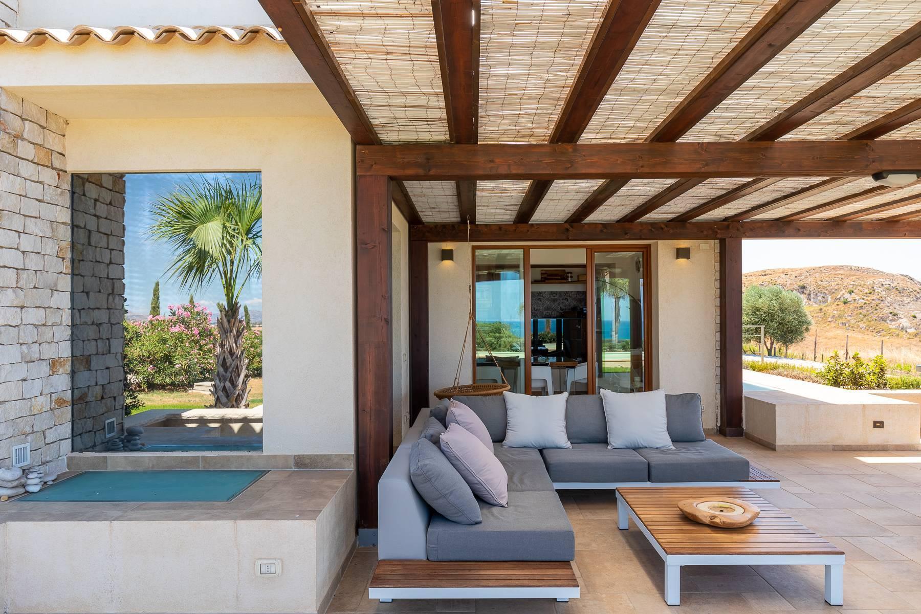 Villa esclusiva con panorama suggestivo sul mare Mediterraneo - 10