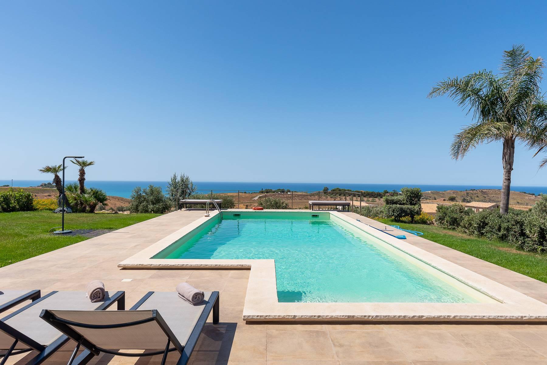 Villa esclusiva con panorama suggestivo sul mare Mediterraneo - 11