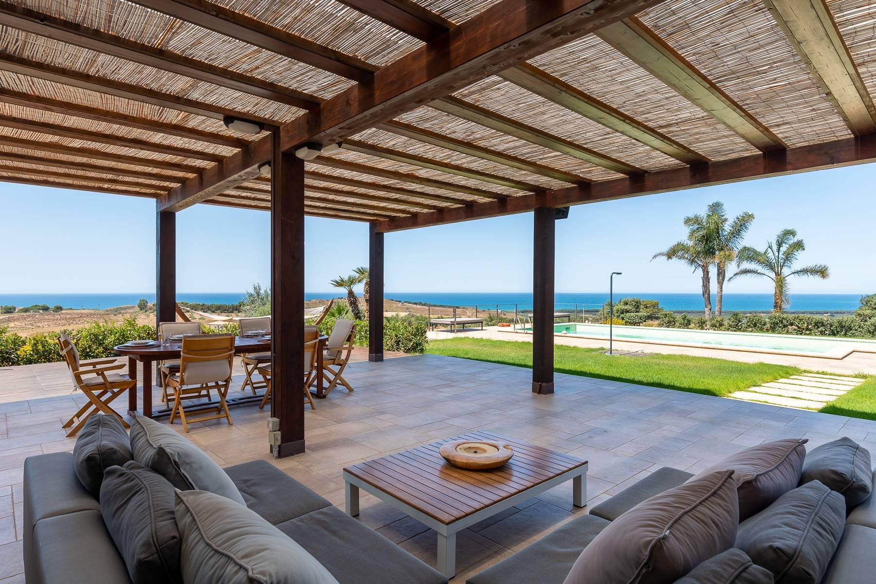 Villa esclusiva con panorama suggestivo sul mare Mediterraneo - 14
