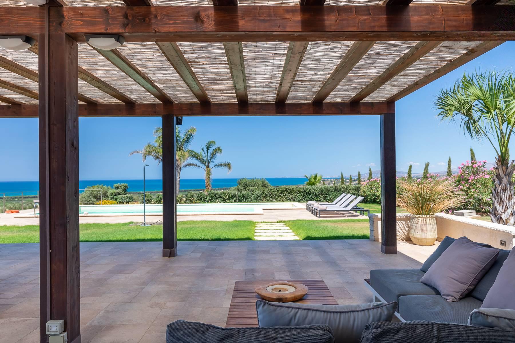 Villa esclusiva con panorama suggestivo sul mare Mediterraneo - 12