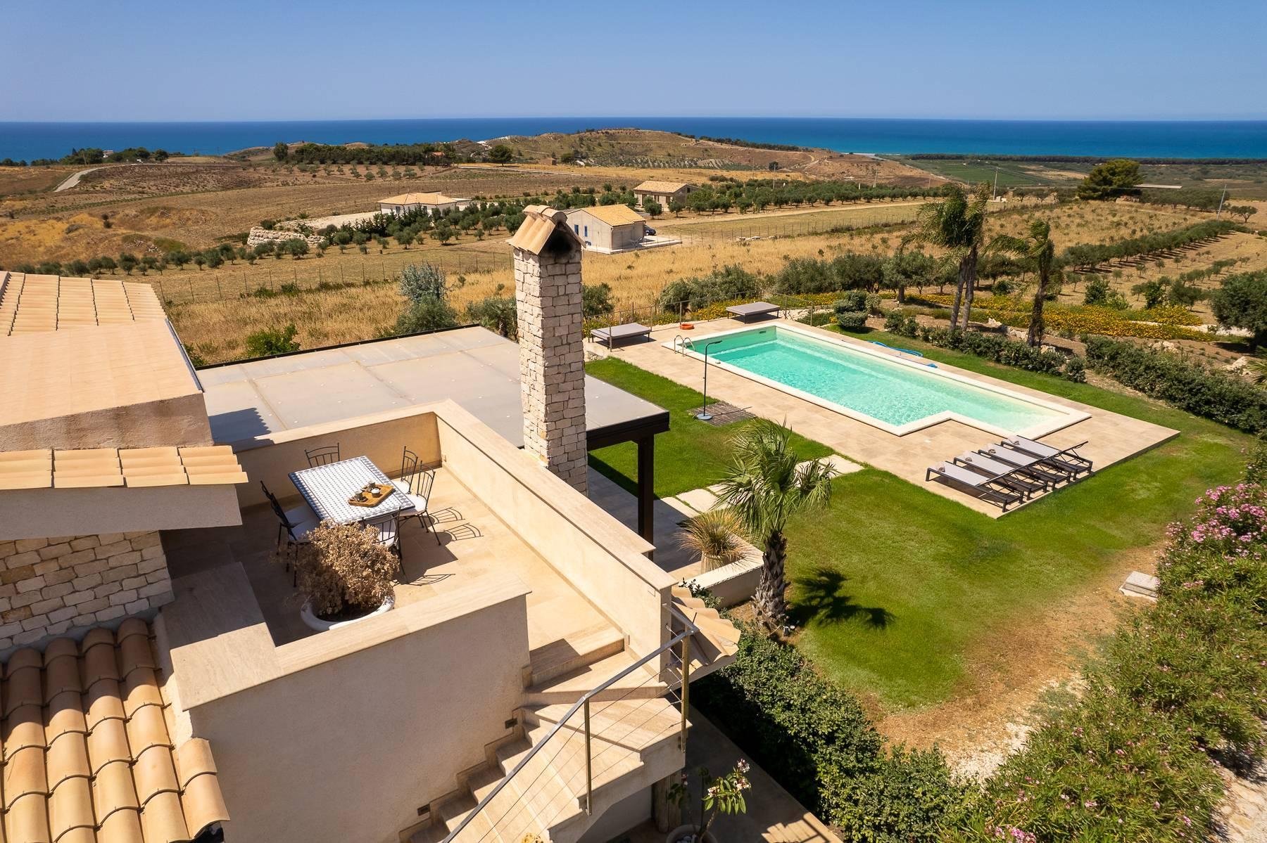 Villa esclusiva con panorama suggestivo sul mare Mediterraneo - 16