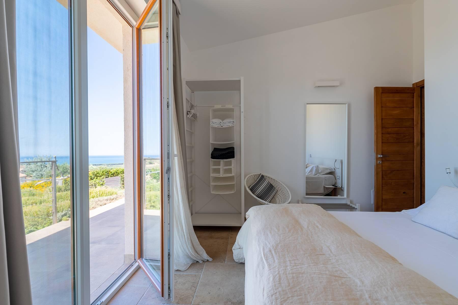 Villa esclusiva con panorama suggestivo sul mare Mediterraneo - 24