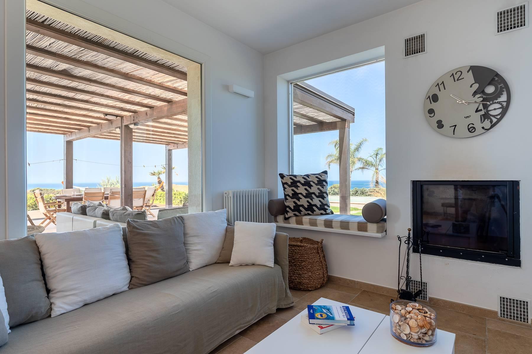 Villa esclusiva con panorama suggestivo sul mare Mediterraneo - 35