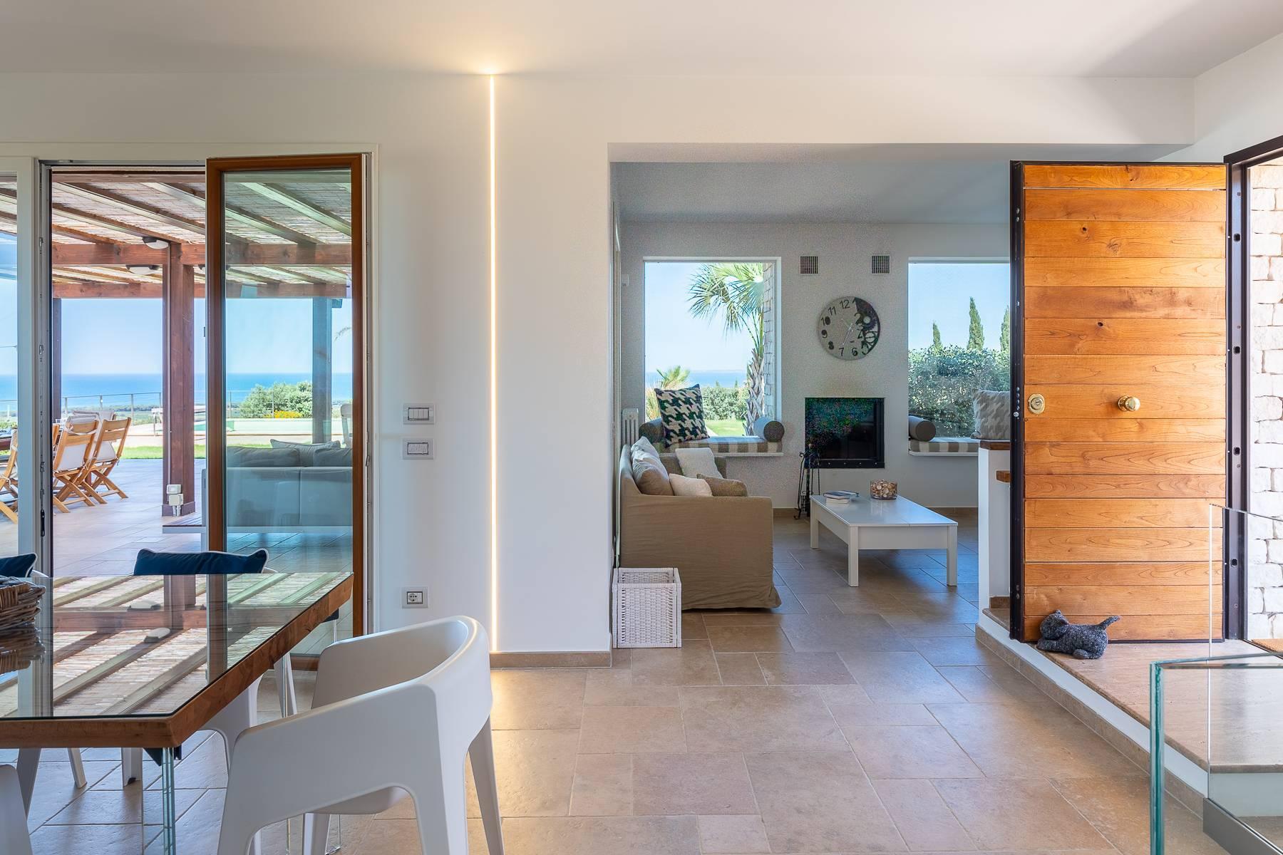 Villa esclusiva con panorama suggestivo sul mare Mediterraneo - 40