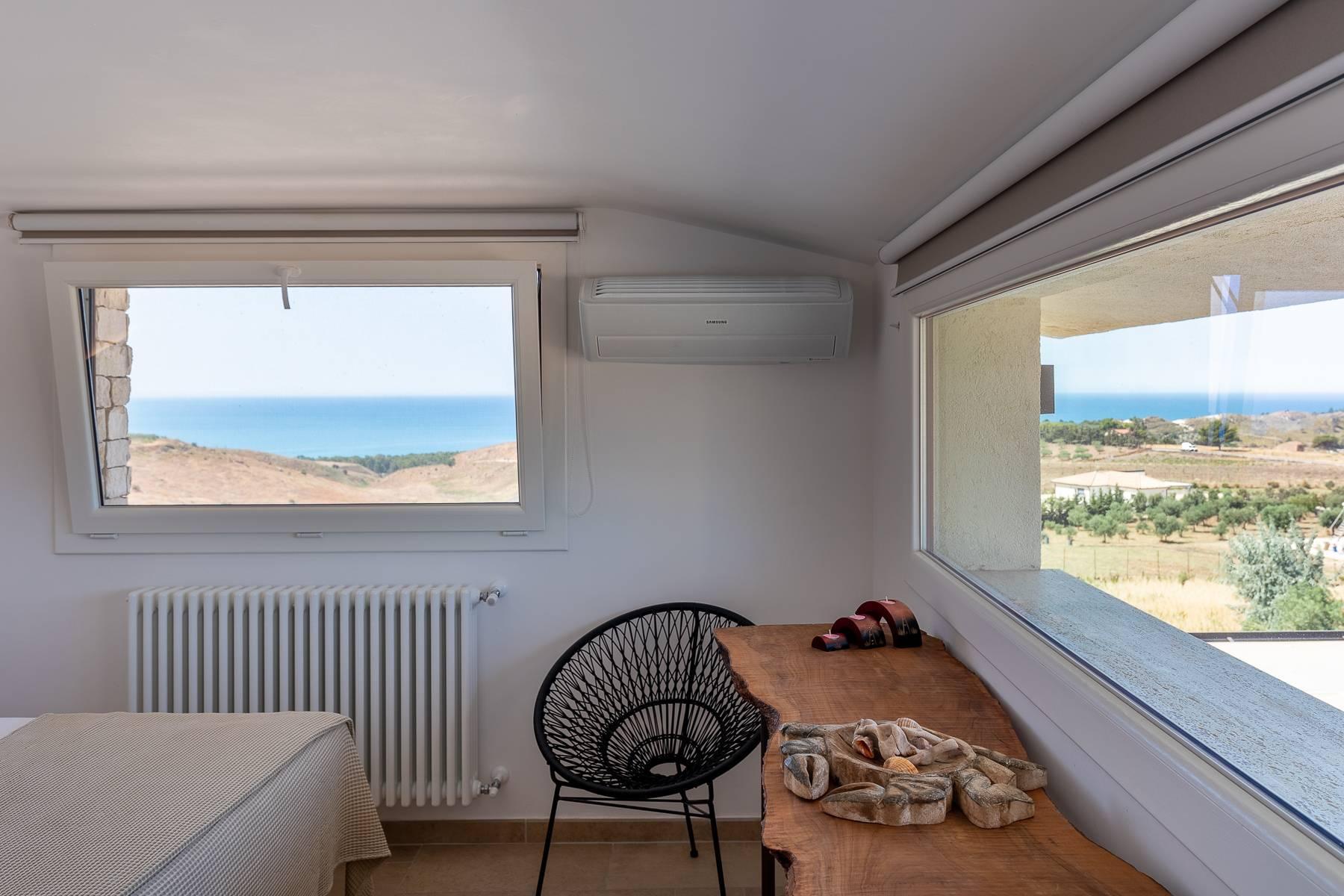 Villa esclusiva con panorama suggestivo sul mare Mediterraneo - 42