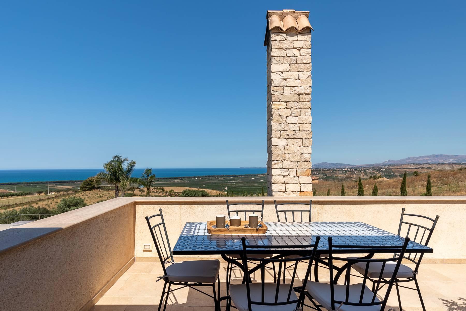 Villa esclusiva con panorama suggestivo sul mare Mediterraneo - 46