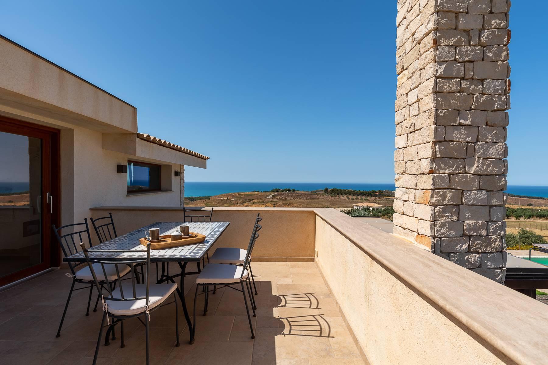 Villa esclusiva con panorama suggestivo sul mare Mediterraneo - 47