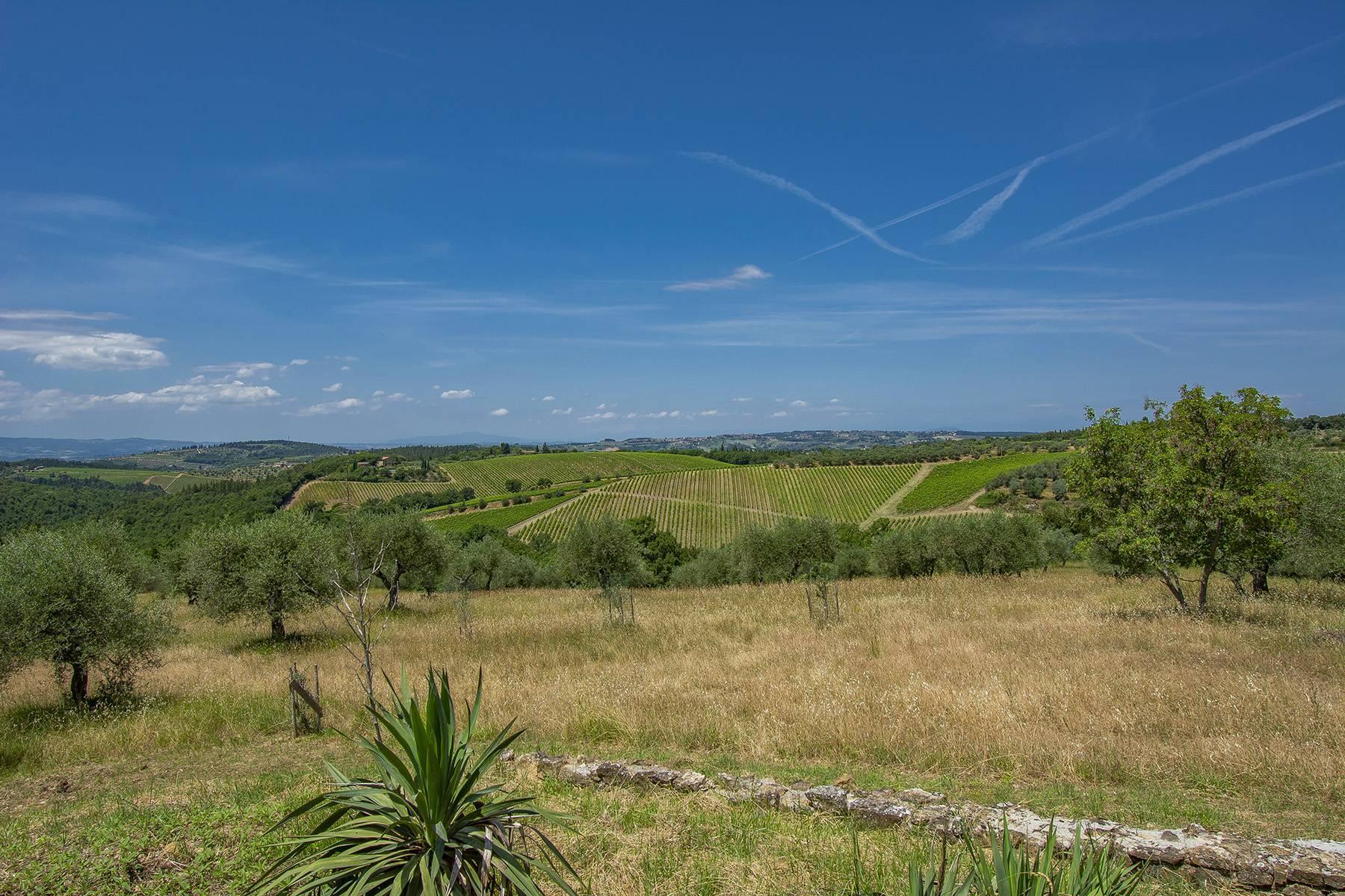 Panorama-Bauernhaus mit Bio-Chianti-Ölproduktion - 27