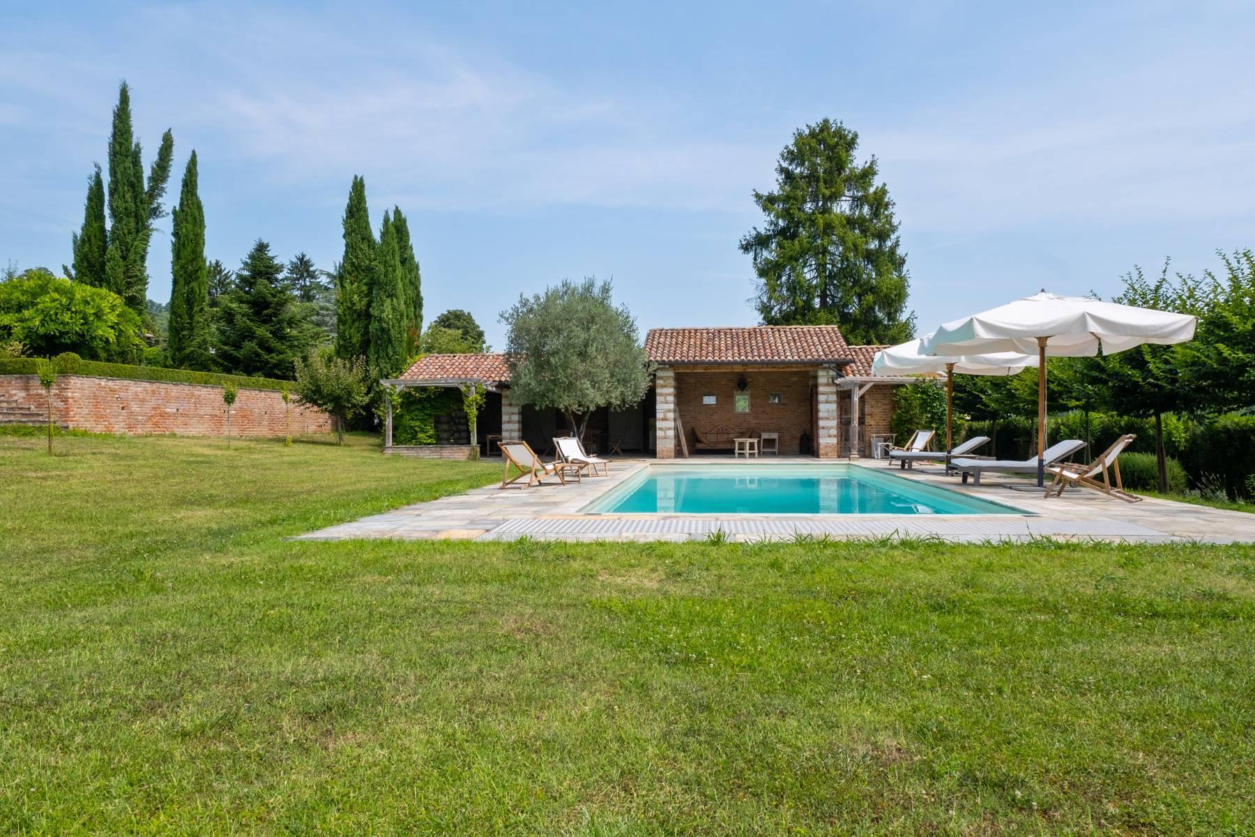 Affascinante casale con piscina nel verde delle colline del Monferrato - 27