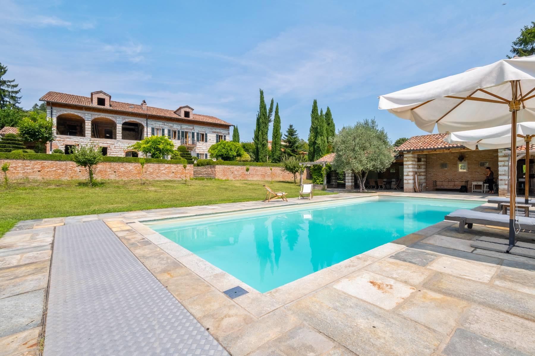 Affascinante casale con piscina nel verde delle colline del Monferrato - 5