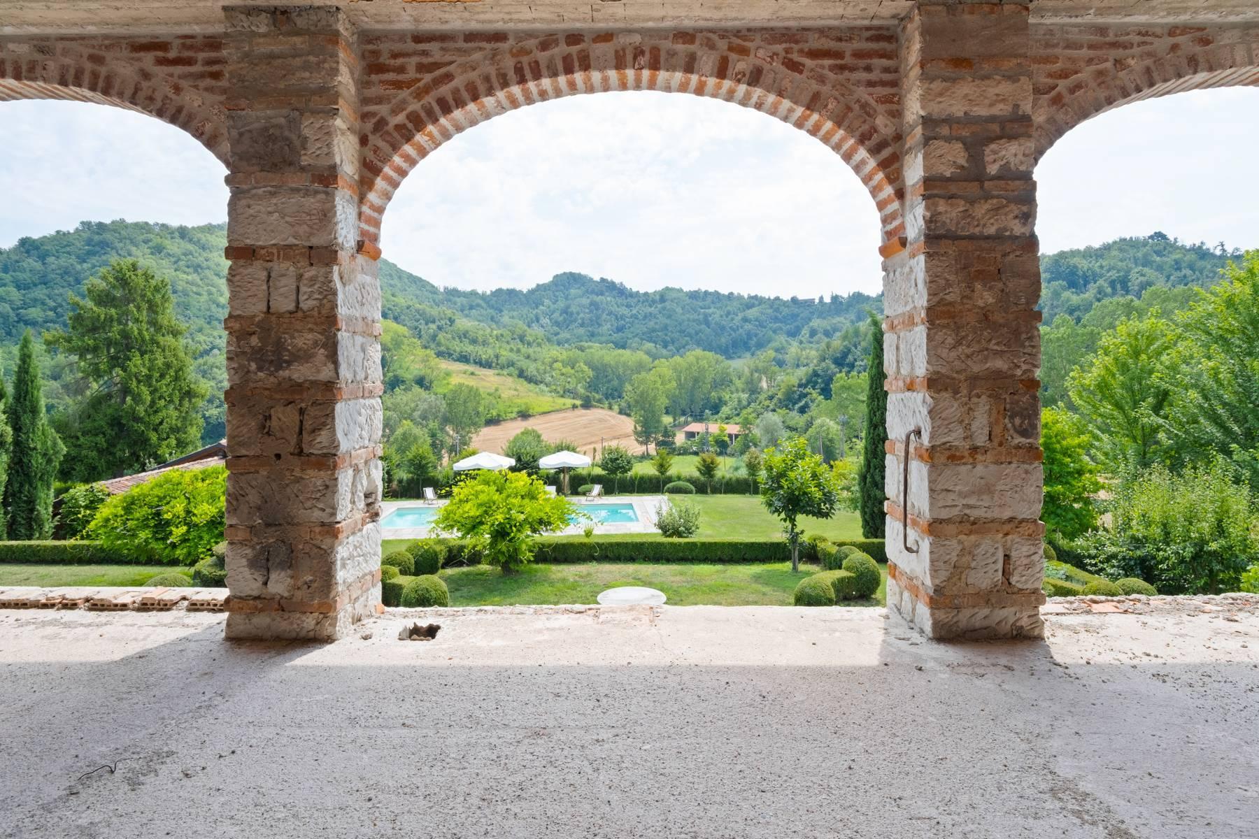 Affascinante casale con piscina nel verde delle colline del Monferrato - 13