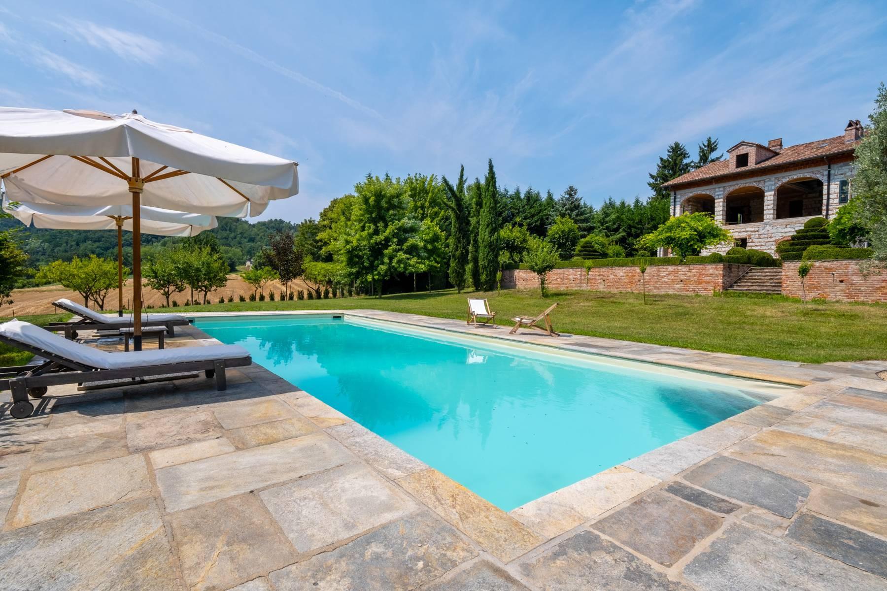 Affascinante casale con piscina nel verde delle colline del Monferrato - 11