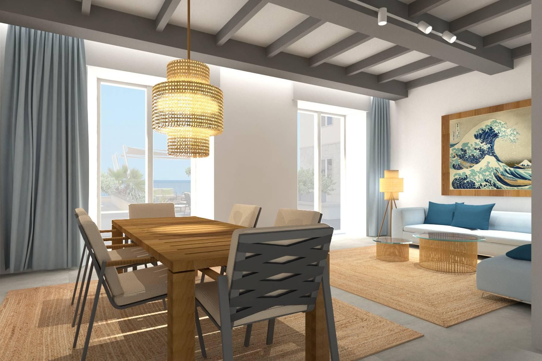 Bright beachfront apartment with a beautiful terrace - 13