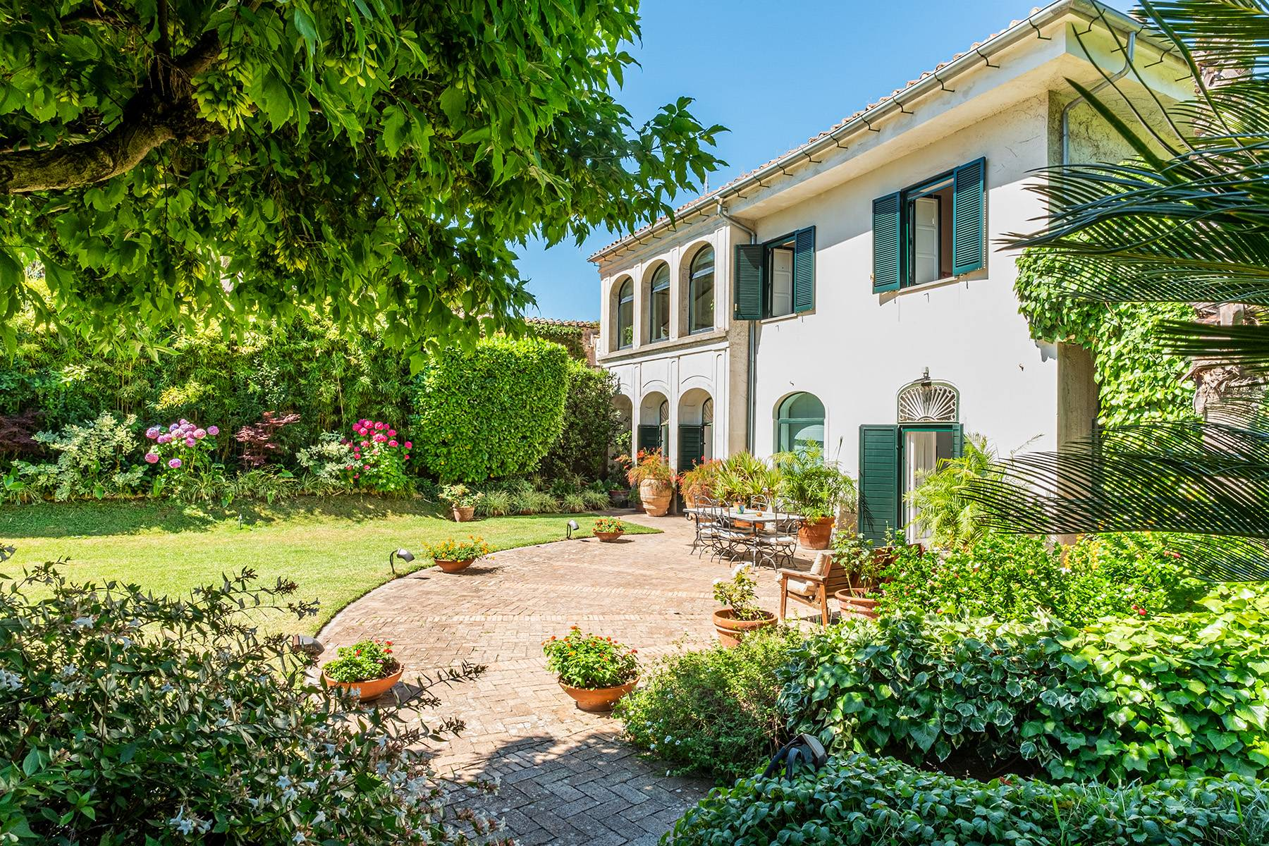 Historisches Anwesen im Grünen mit atemberaubendem Blick auf den Golf von Vietri - 1