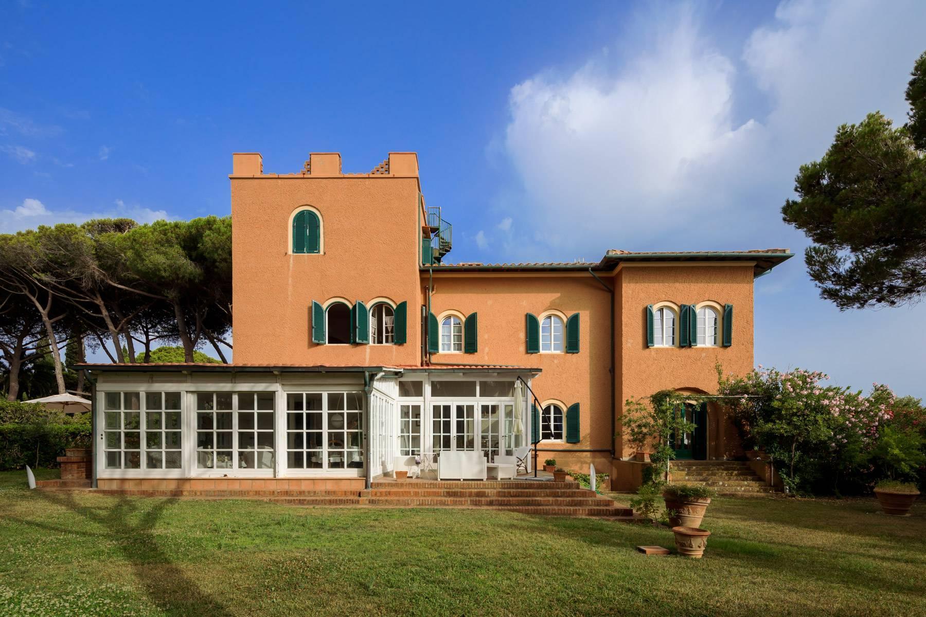 Appartamento con giardino privato ed accesso al mare in villa storica - 6
