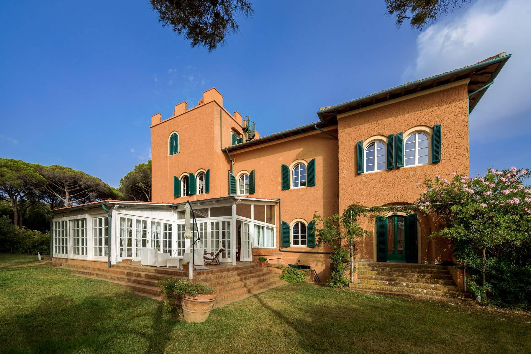 Appartamento con giardino privato ed accesso al mare in villa storica - 7
