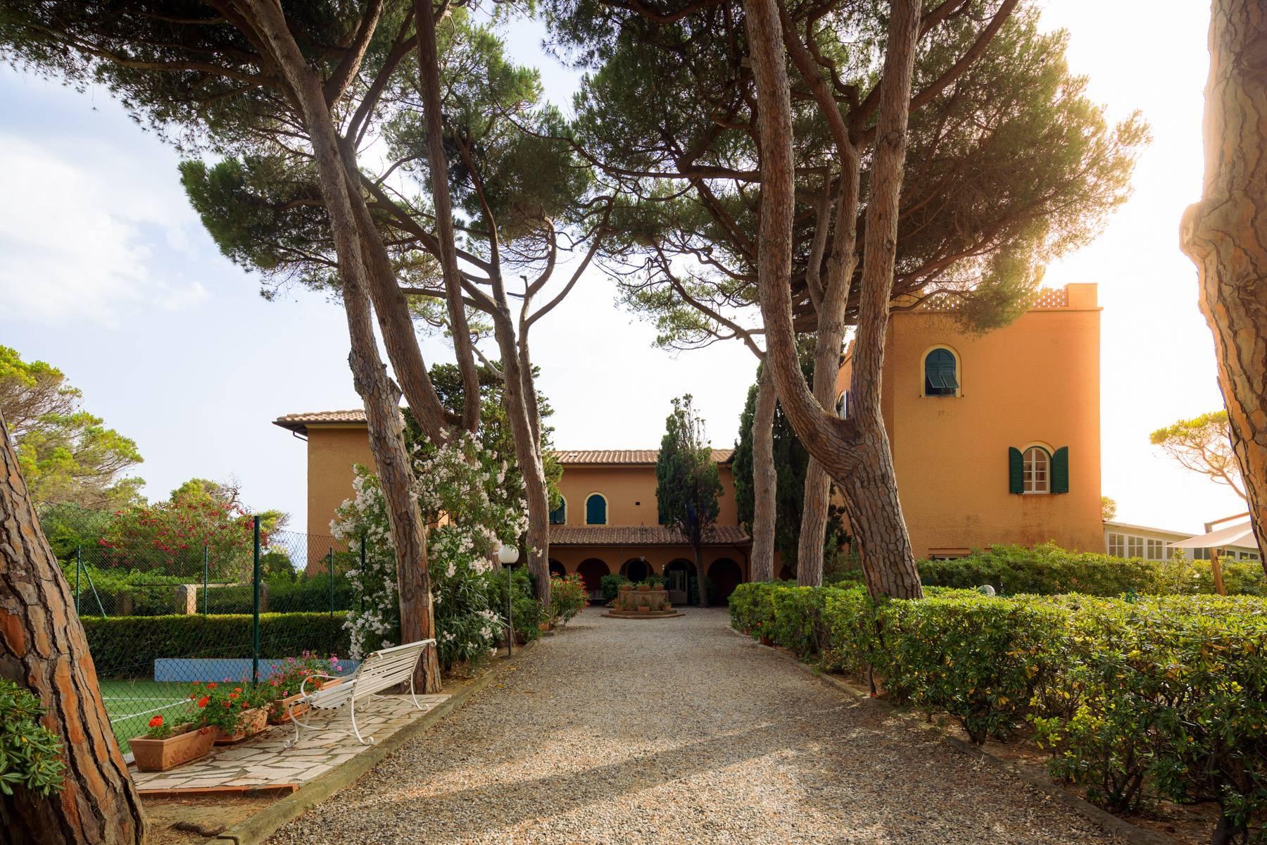 Appartamento con giardino privato ed accesso al mare in villa storica - 5