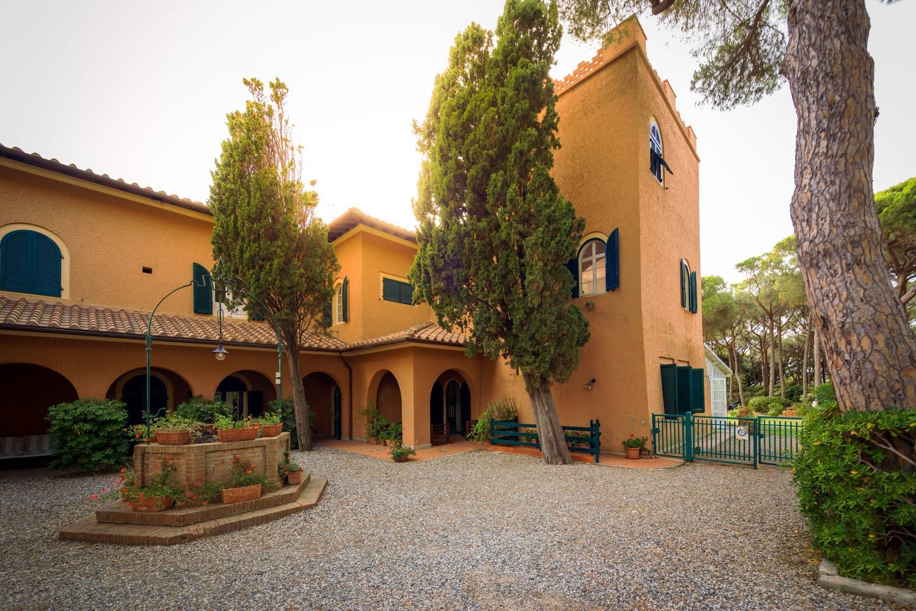 Appartamento con giardino privato ed accesso al mare in villa storica - 4