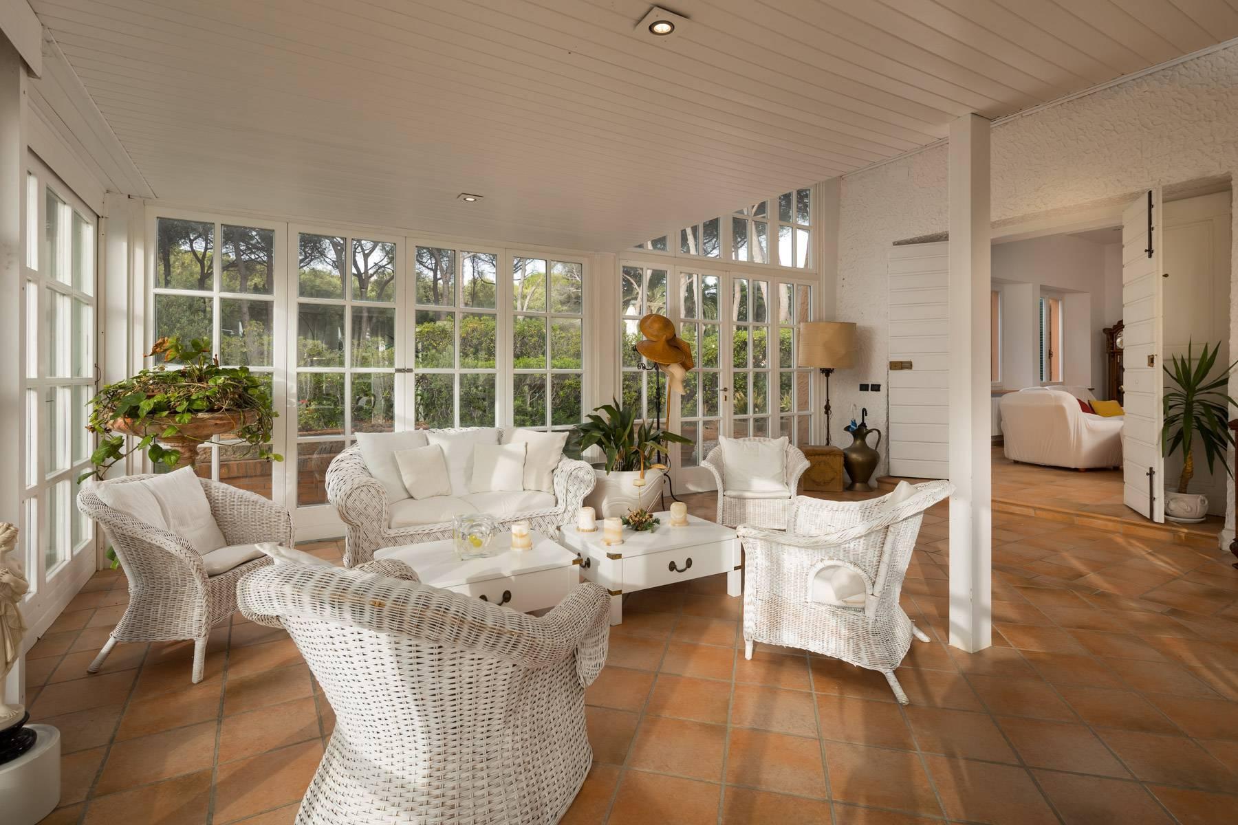Appartamento con giardino privato ed accesso al mare in villa storica - 8