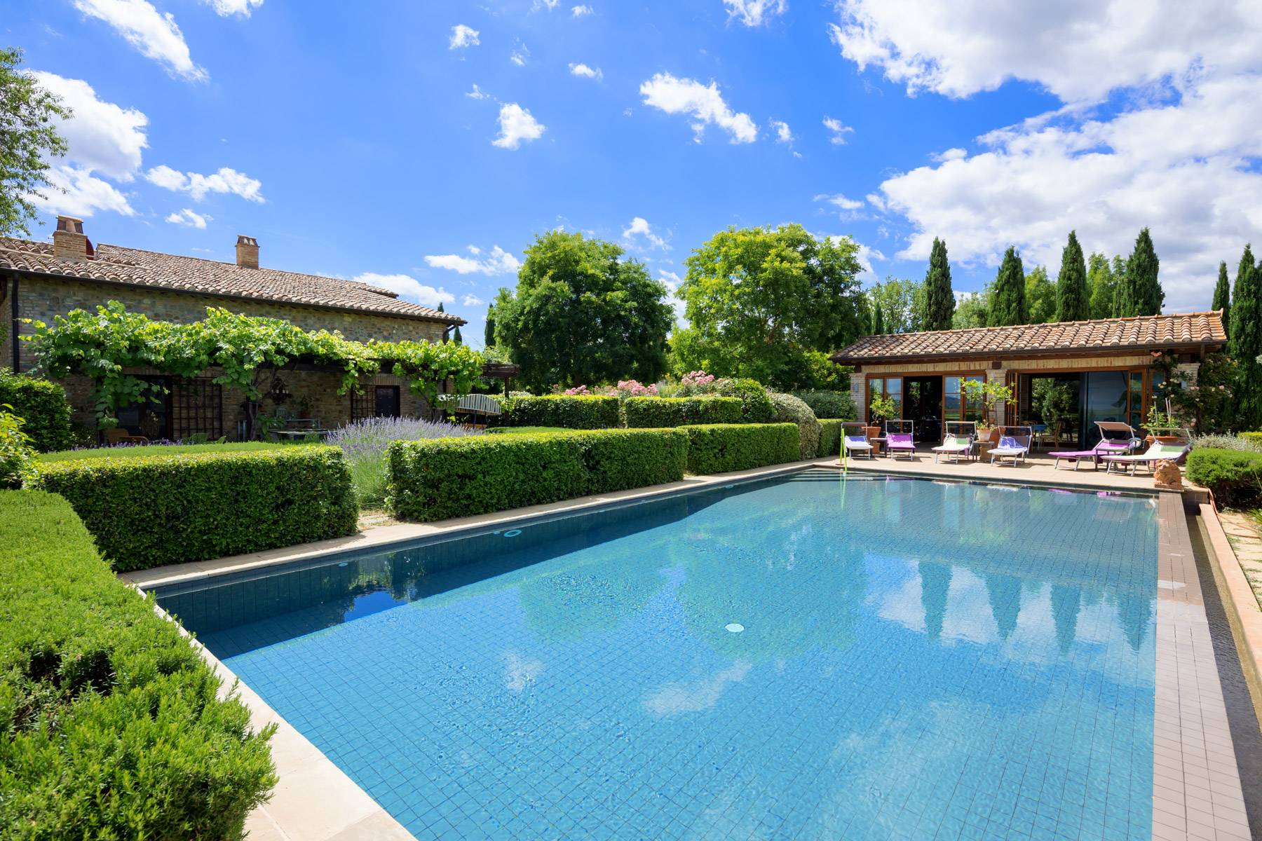Luxury and green country house in Città della Pieve - 5