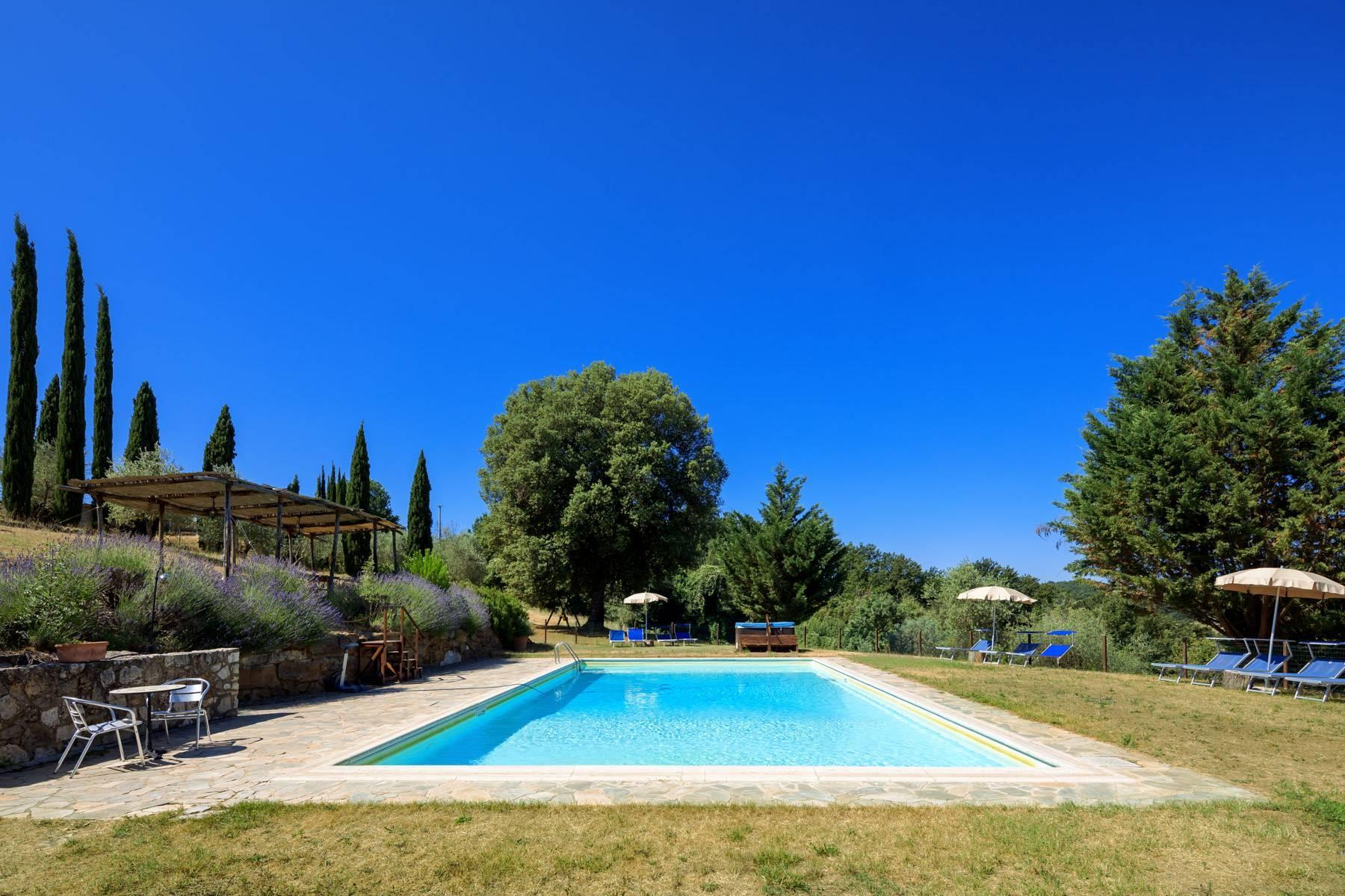Storico casale nel cuore delle crete senesi con piscina - 6