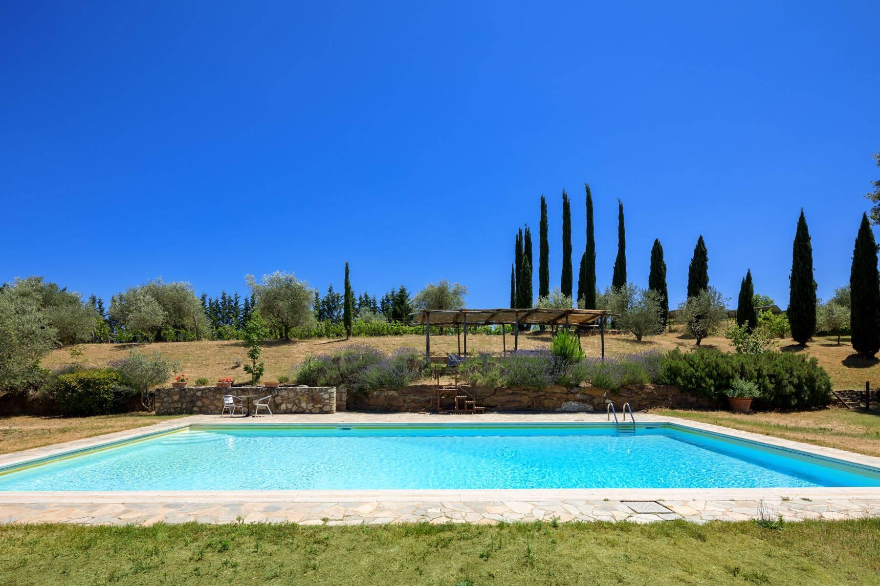 Storico casale nel cuore delle crete senesi con piscina - 38