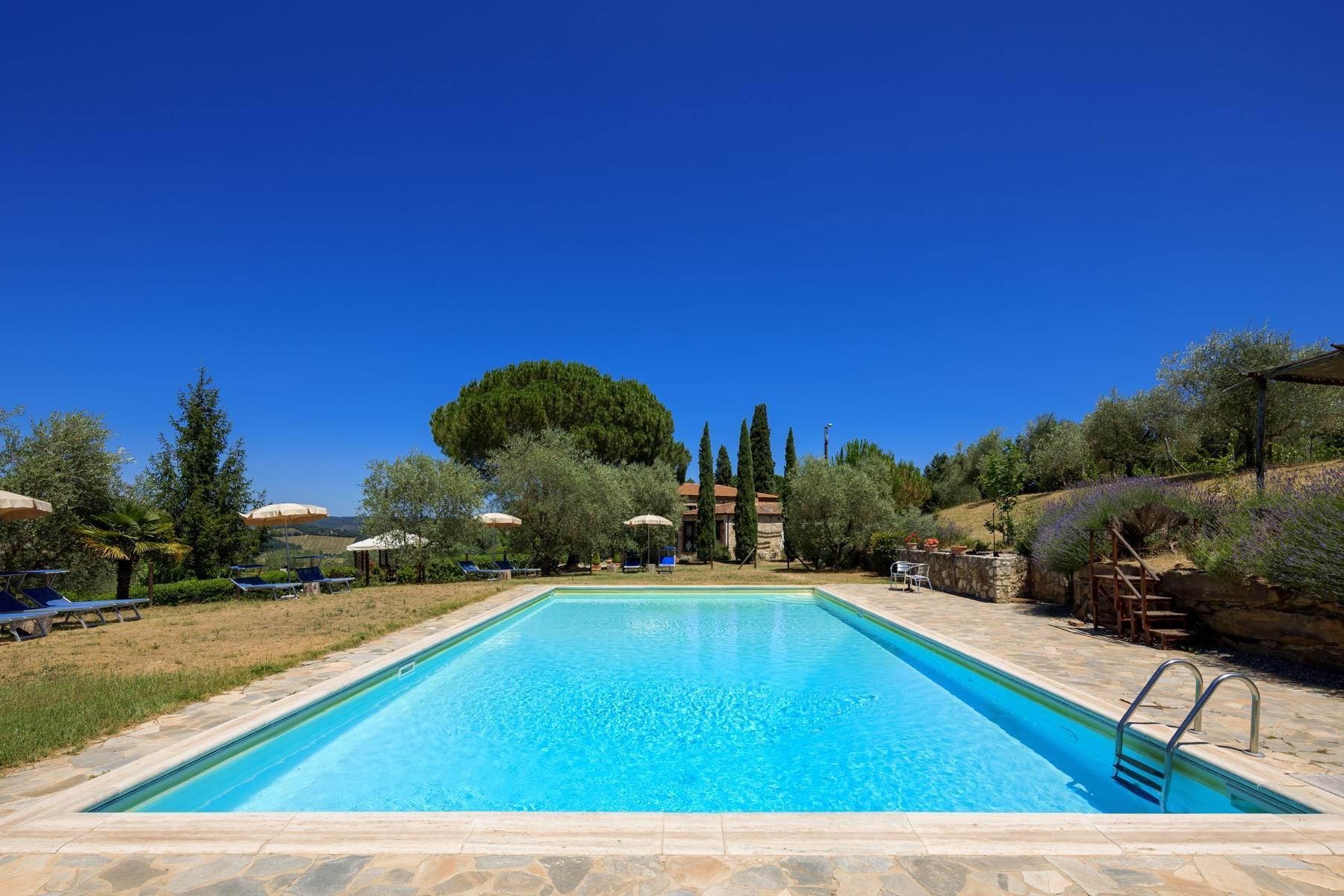 Storico casale nel cuore delle crete senesi con piscina - 39