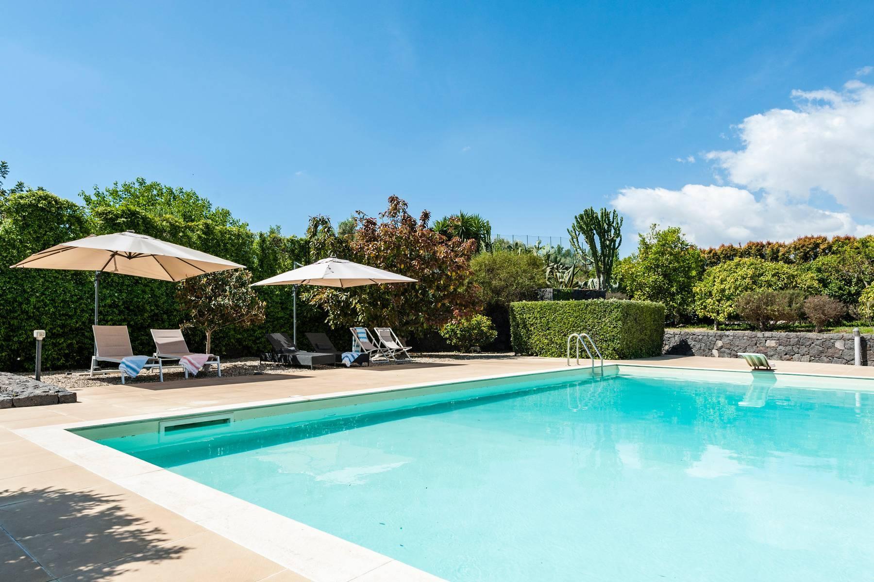 Villa esclusiva con piscina con vista ad Acireale - 6