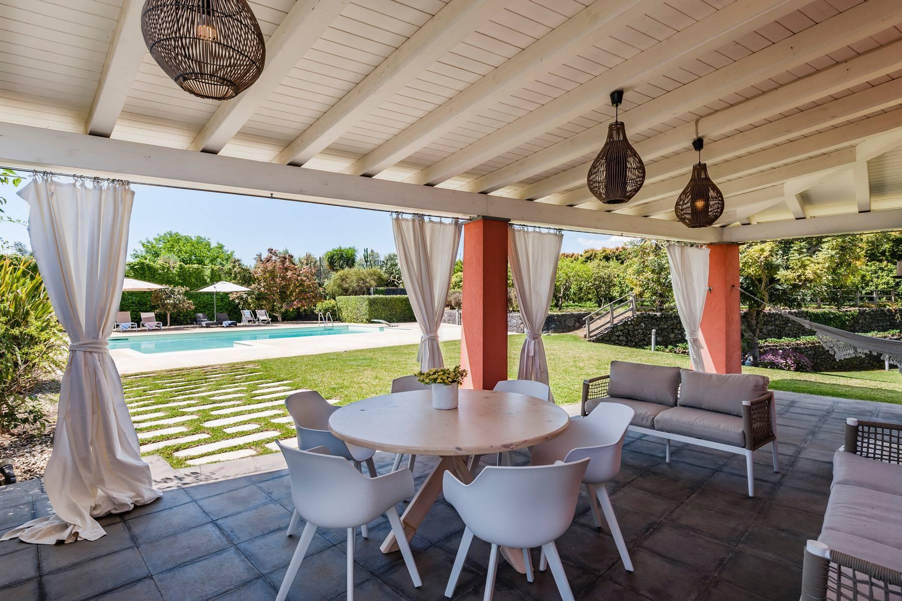 Villa esclusiva con piscina con vista ad Acireale - 3
