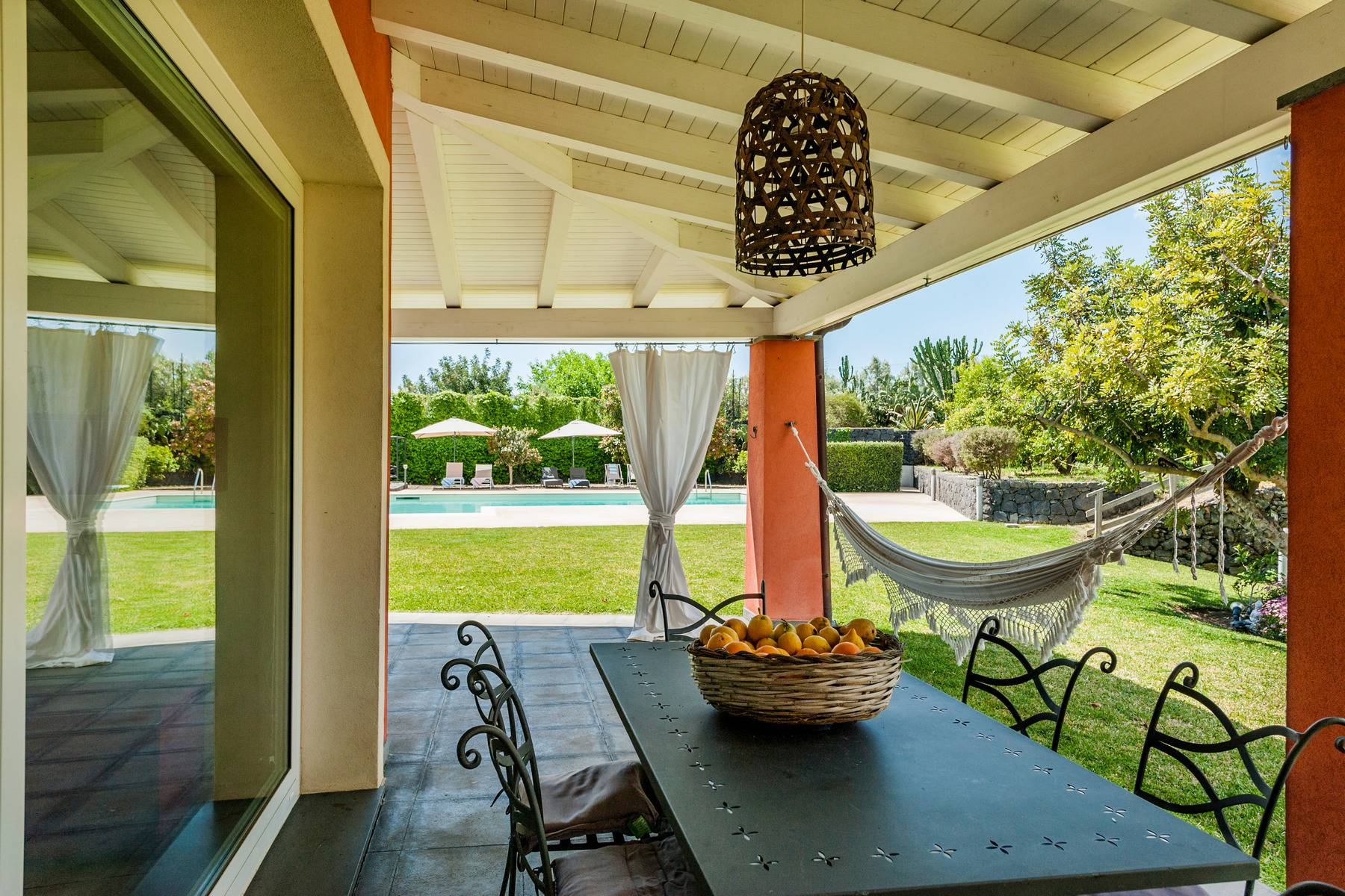 Villa esclusiva con piscina con vista ad Acireale - 2