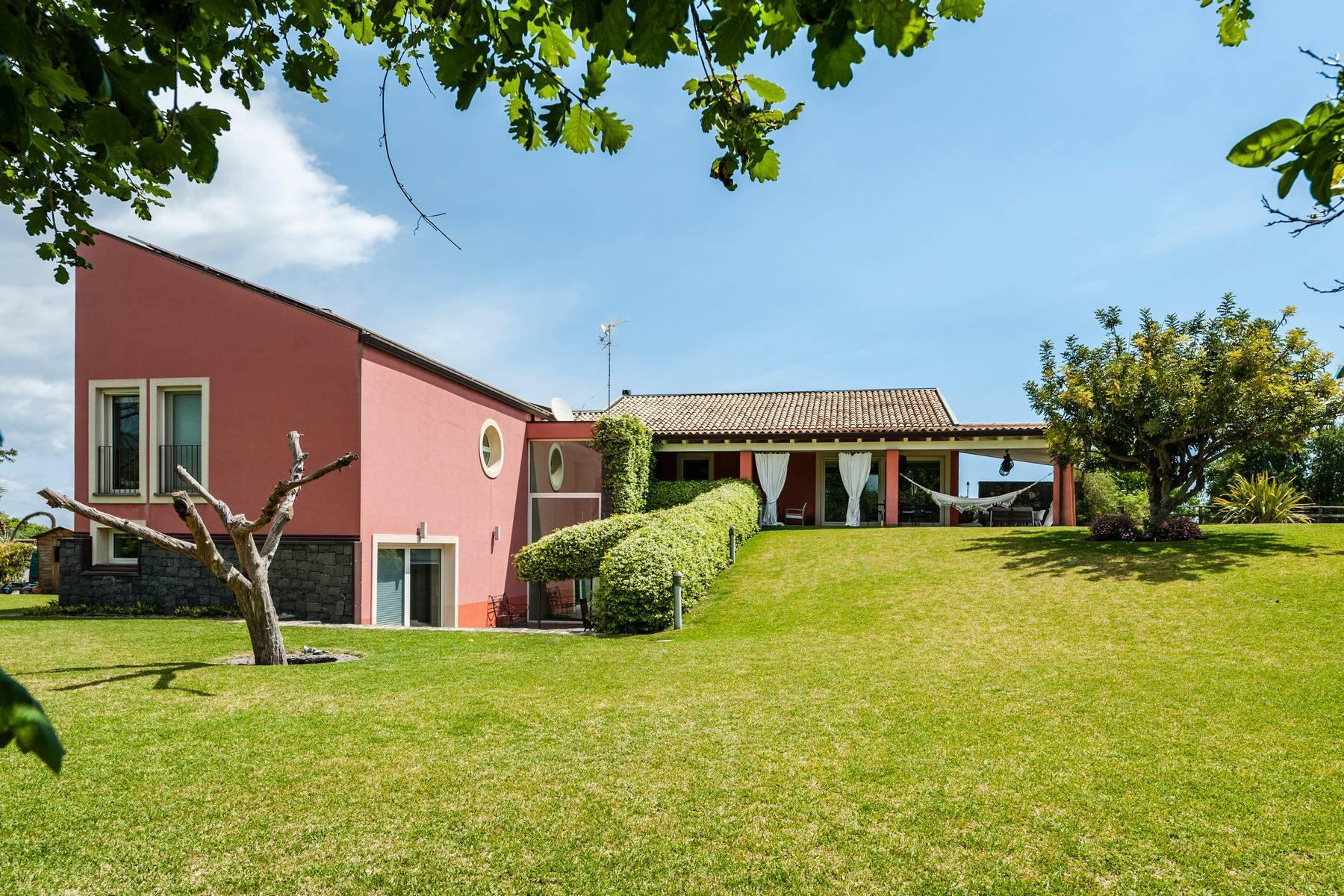 Villa esclusiva con piscina con vista ad Acireale - 11