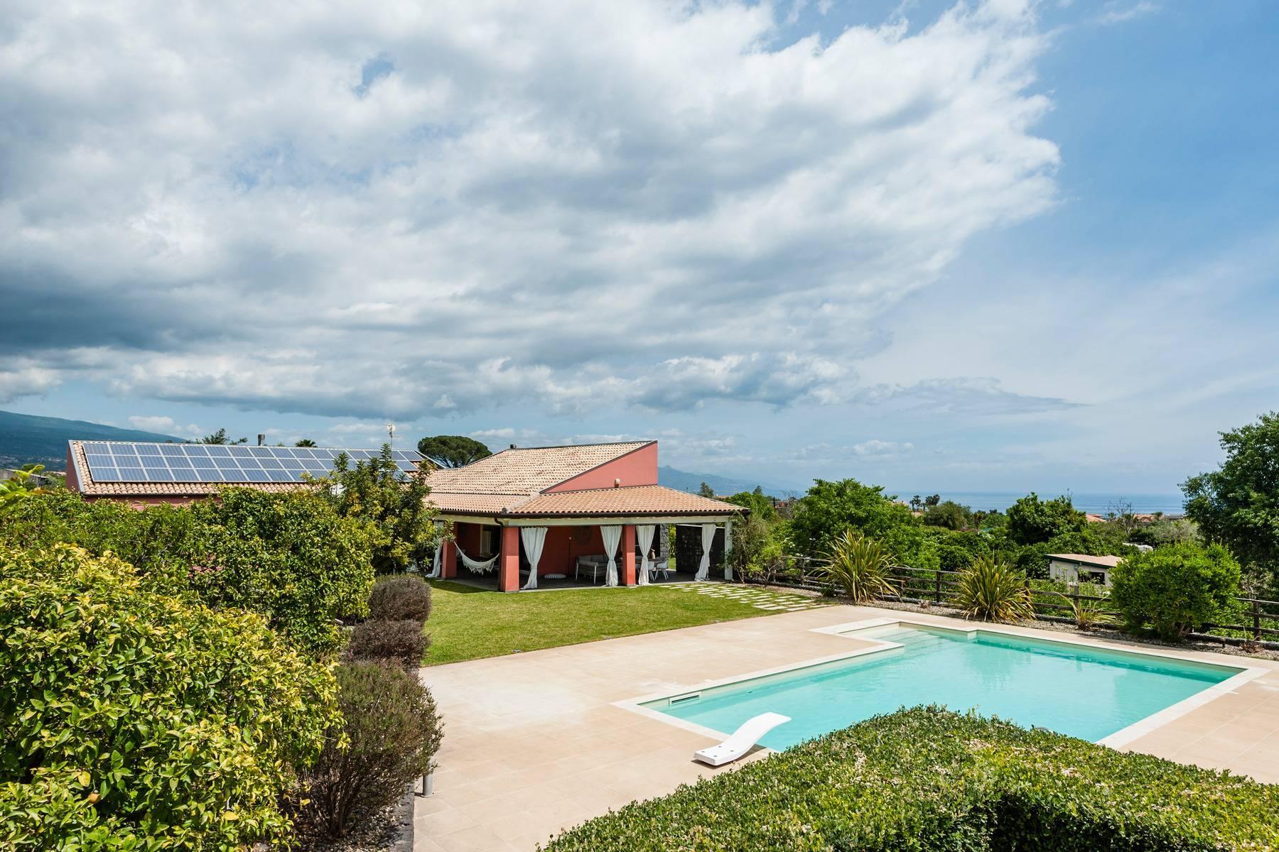 Villa esclusiva con piscina con vista ad Acireale - 22
