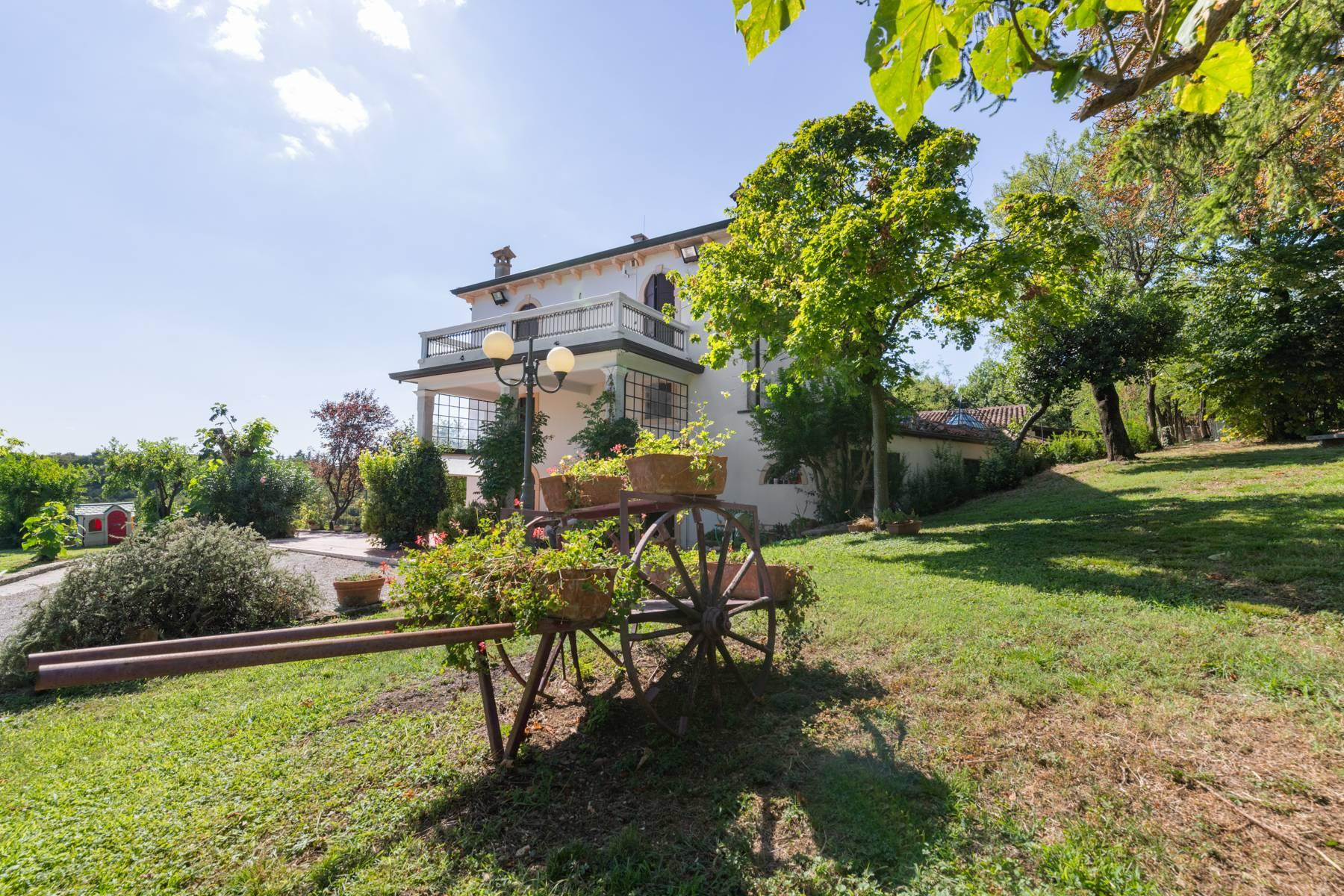 Historic country villa with swimming pool, tennis court and estate on the hills of Verona - 7