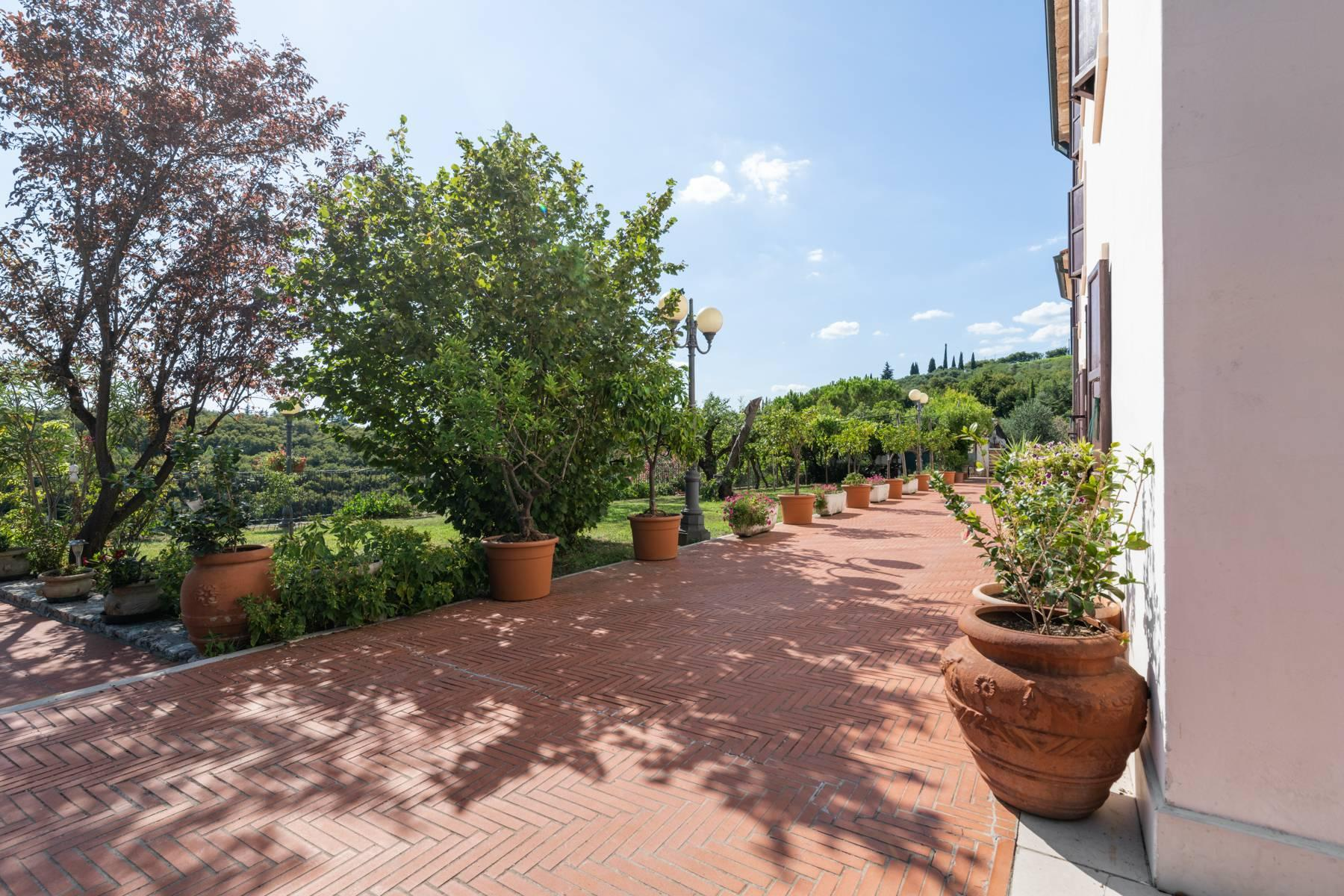 Historic country villa with swimming pool, tennis court and estate on the hills of Verona - 8